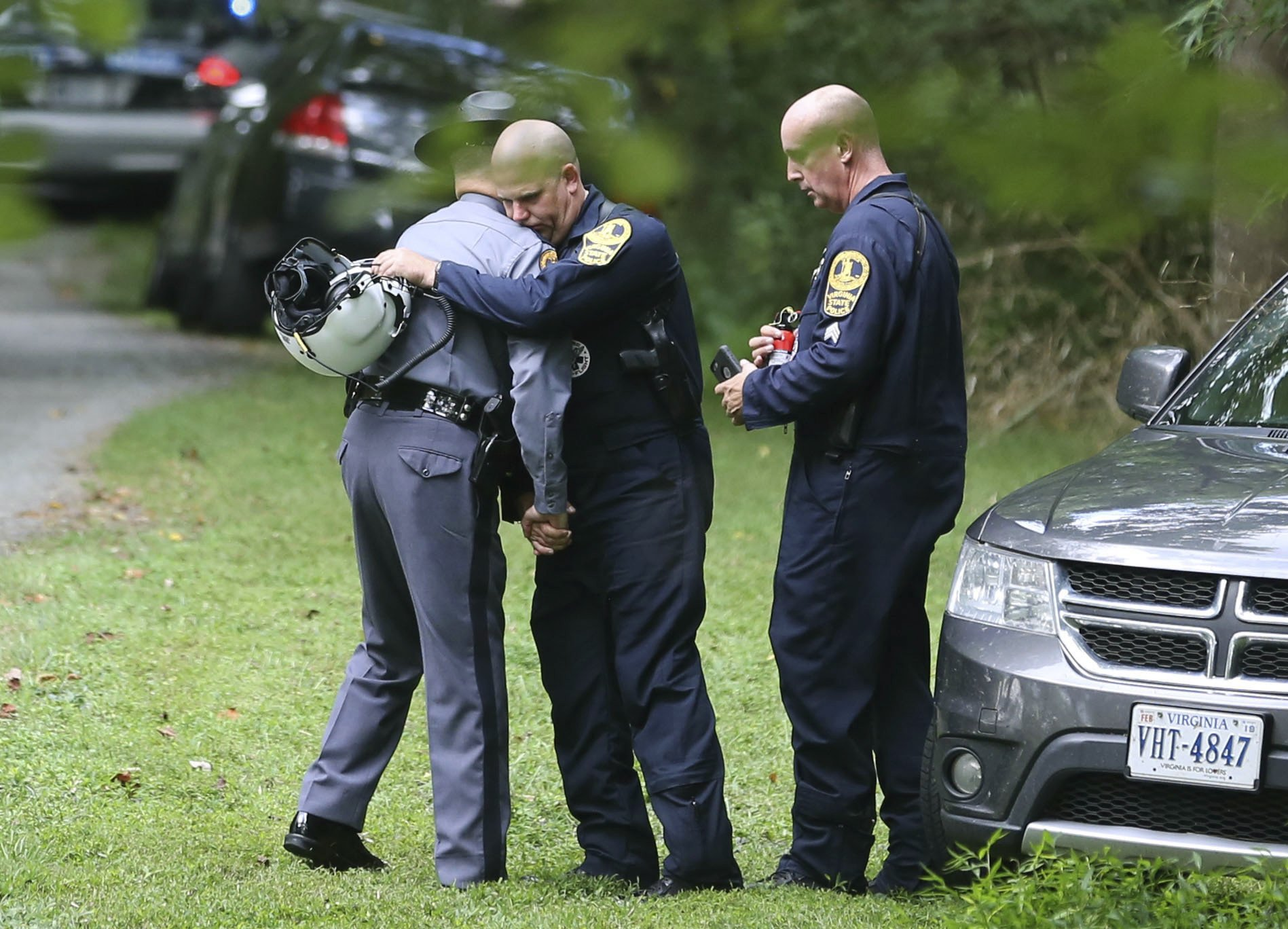 2-Virginia-Officers-Killed-in-Helicopter-Crash-Are-Mourned