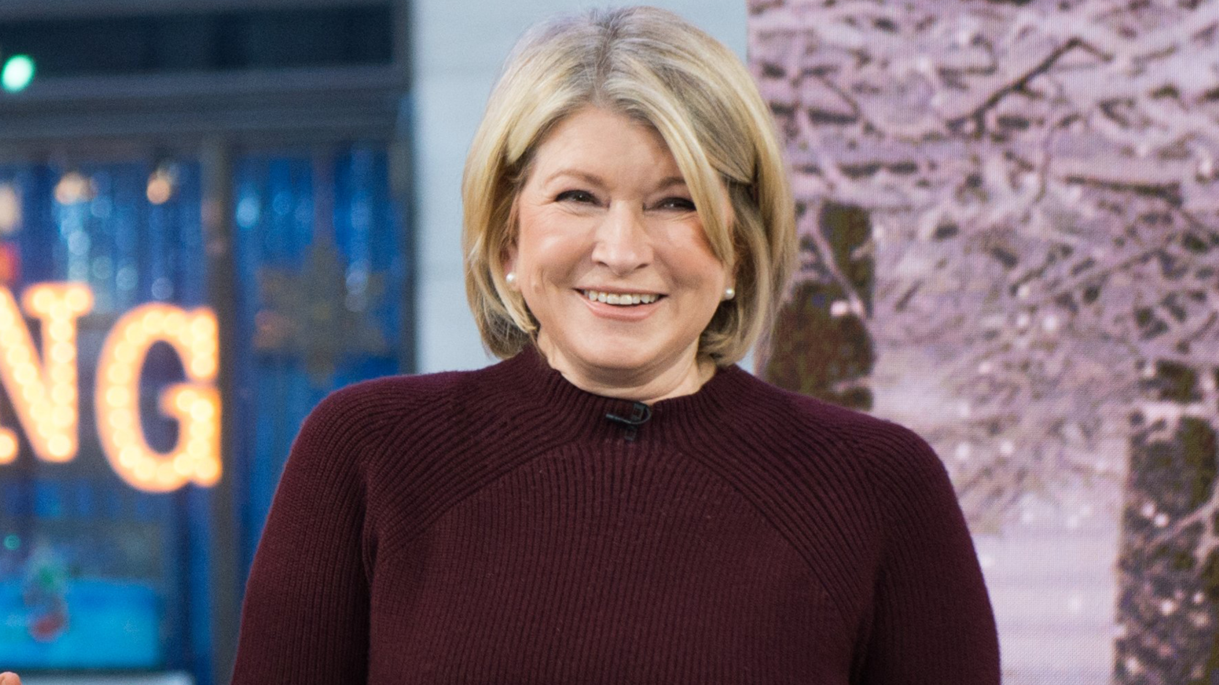Martha stewart dating today show