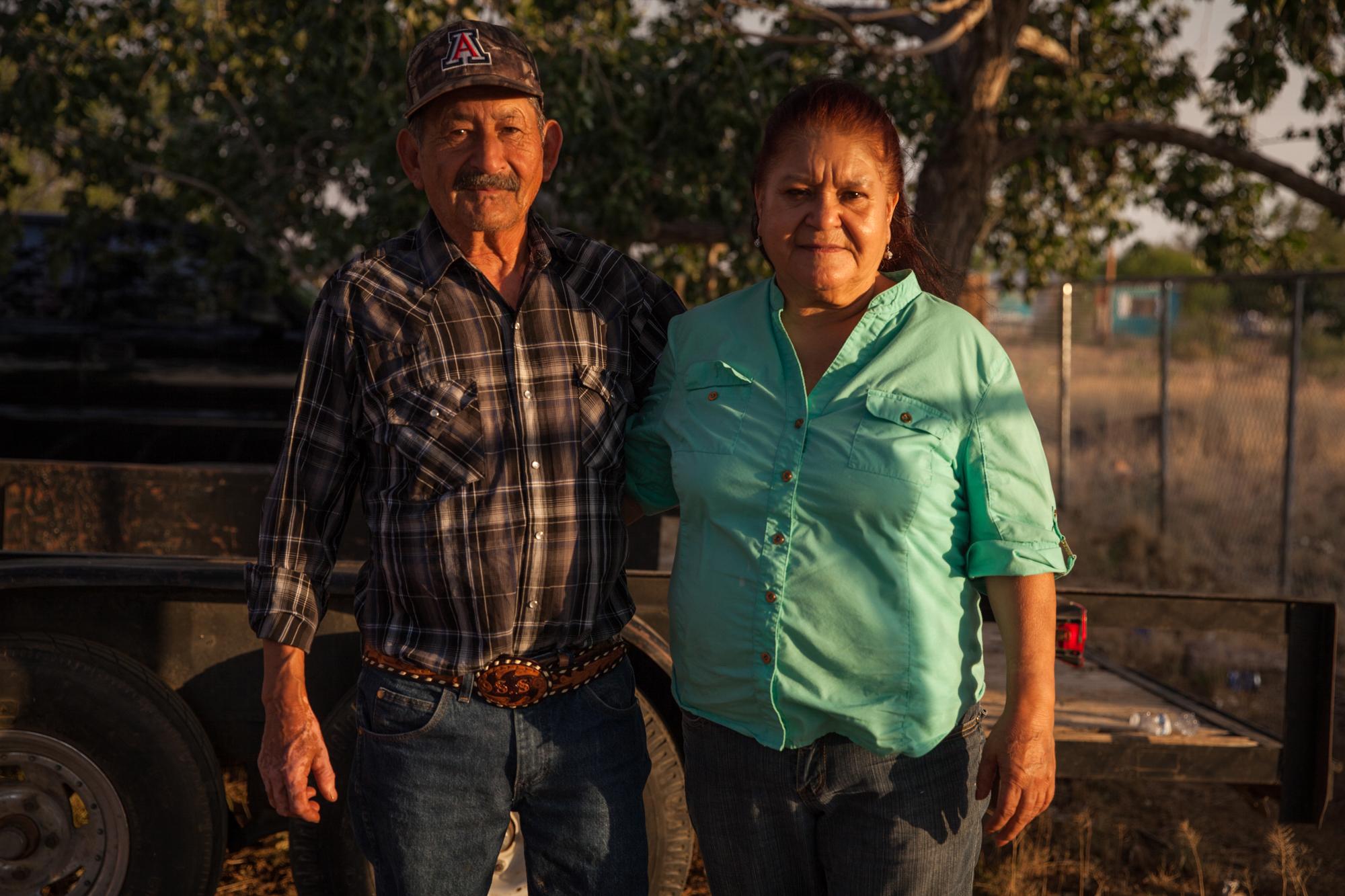 Image: Jesus and Josefina Salazar
