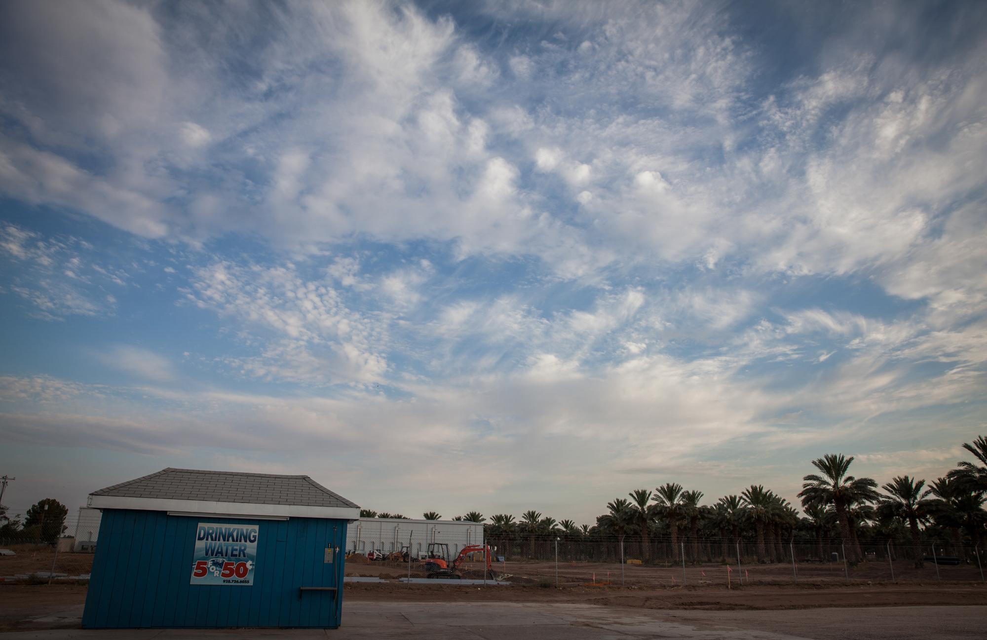 Image: Arizona water station