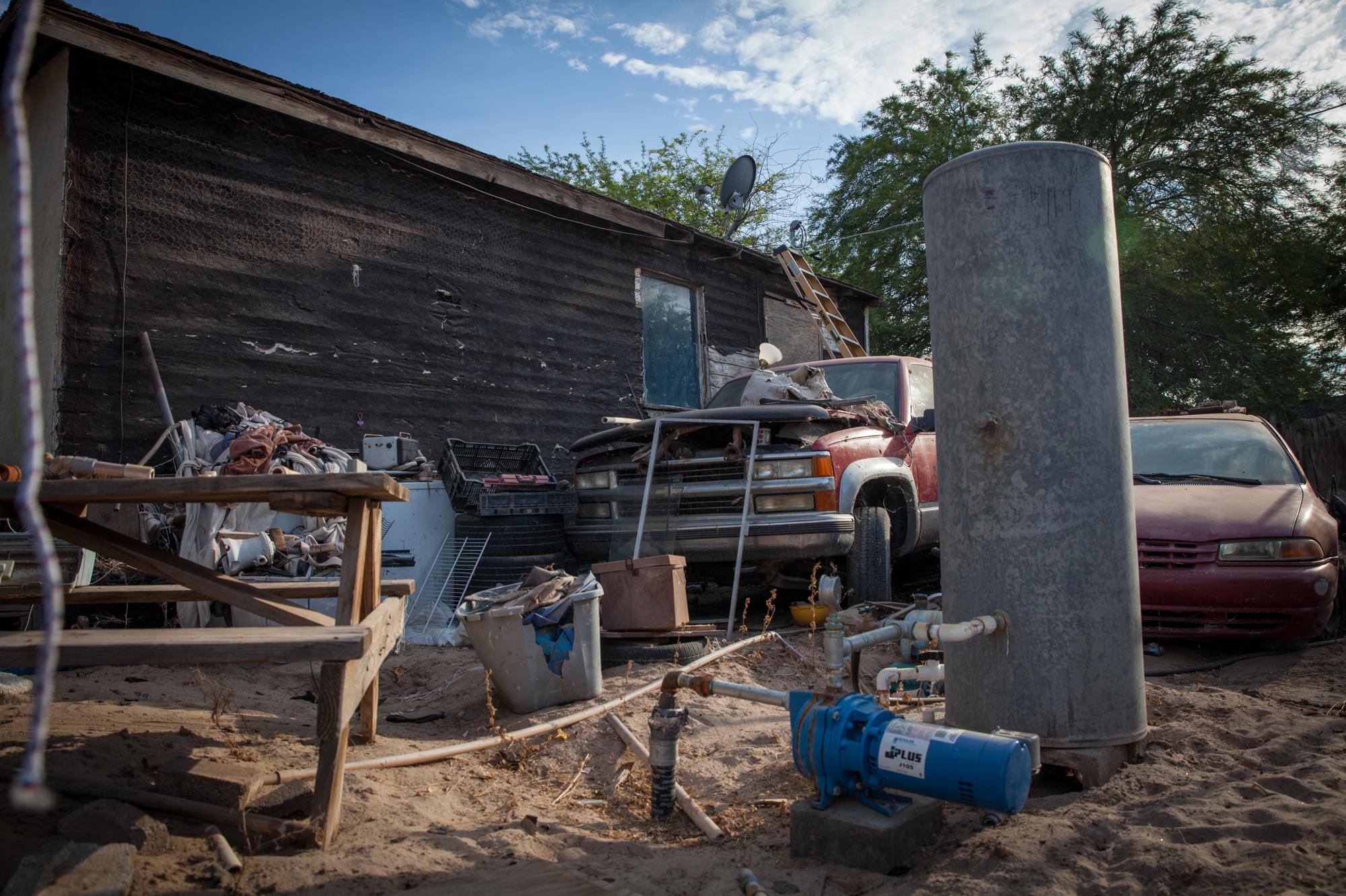 Image: Backyard water well