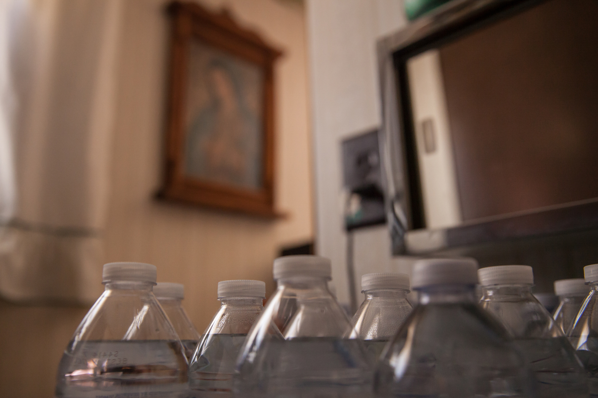 Image: Bottles of water, New Mexico