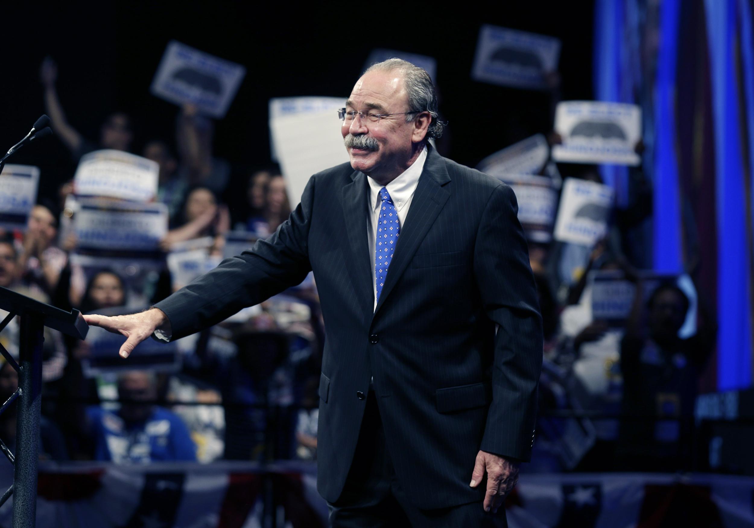 Image: Democratic Party Chairman Gilberto Hinojosa