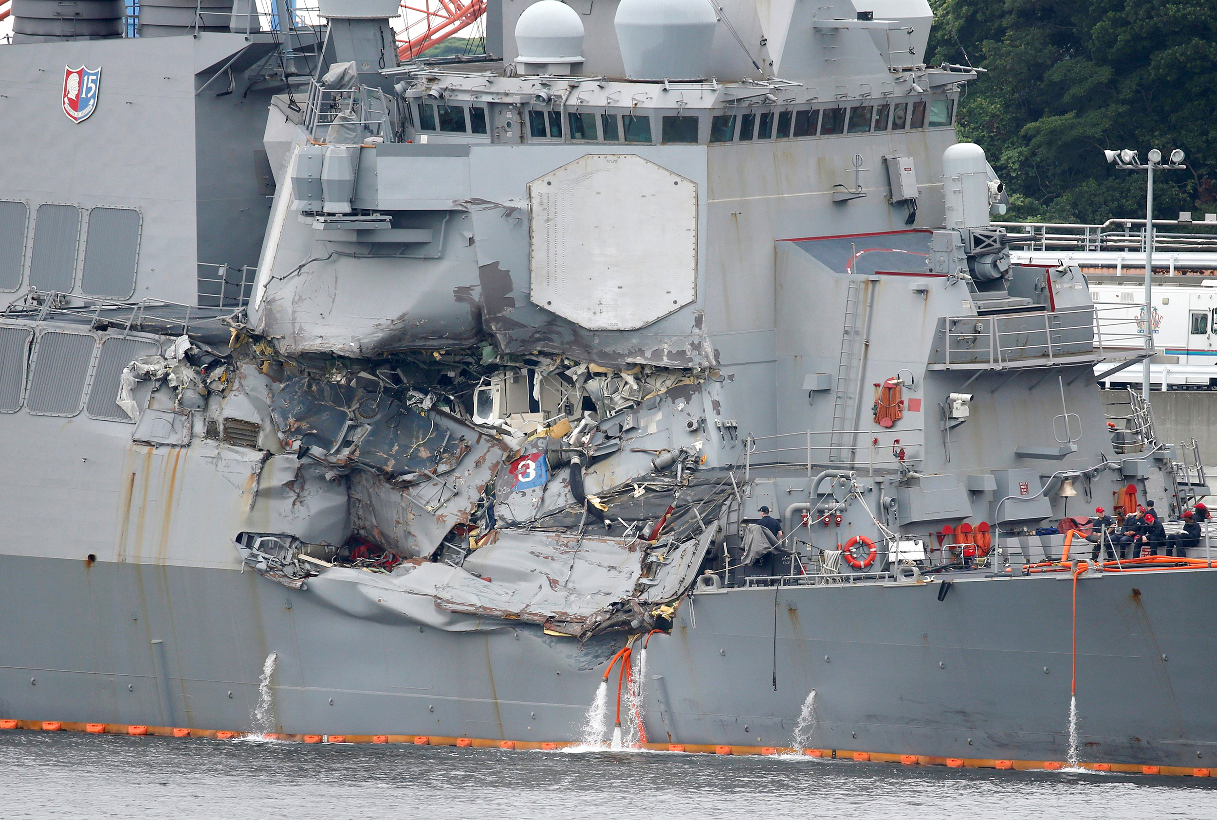 Navy Punishes Leadership of USS Fitzgerald Following Deadly Collision