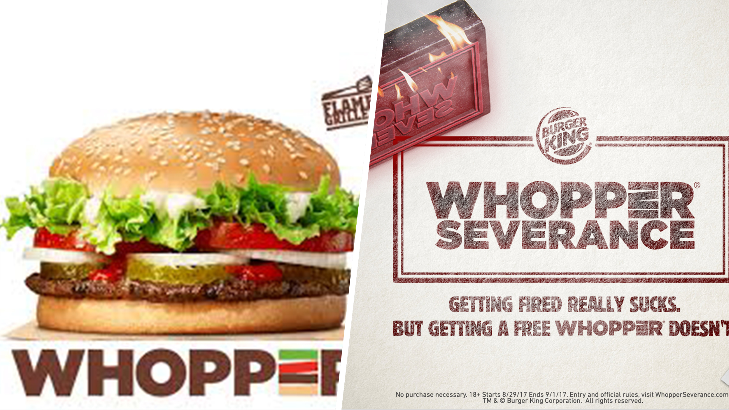 Burger King offers tasty silver lining to anyone who has