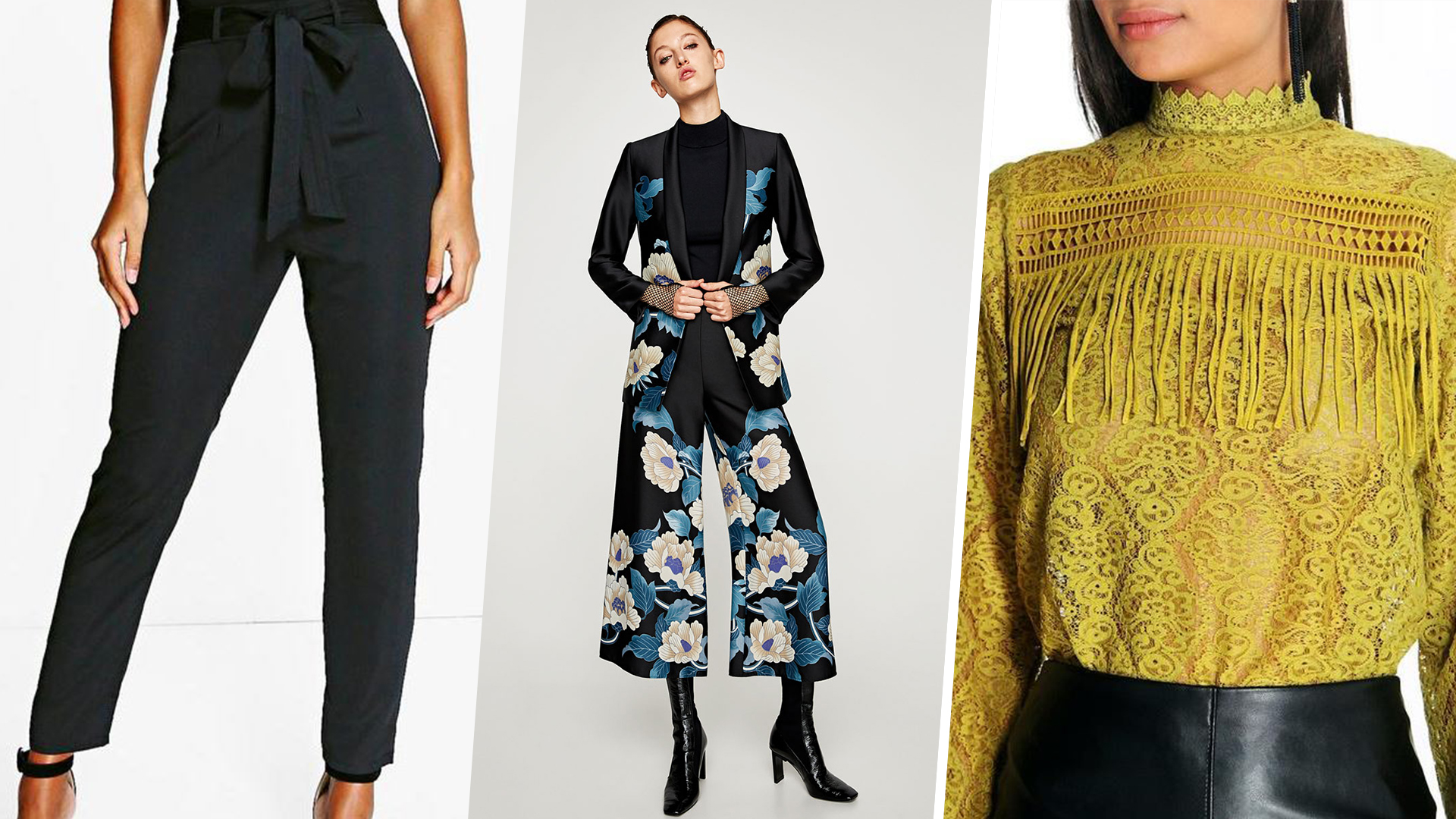 Fashion Trends For Fall Florals Suits Victorian Blouse