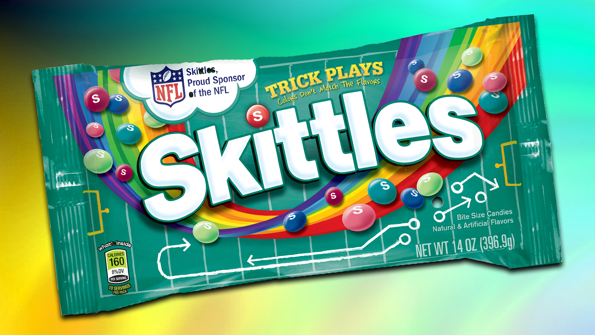 skittles trick color packs don t match flavors