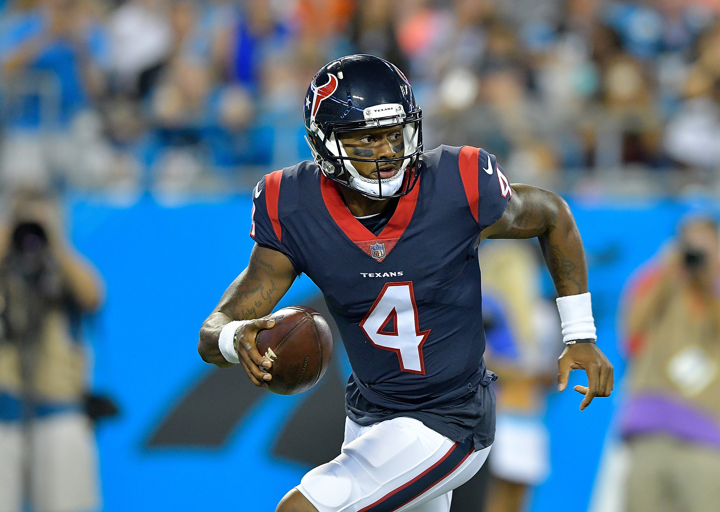 Image: Deshaun Watson #4 of the Houston Texans