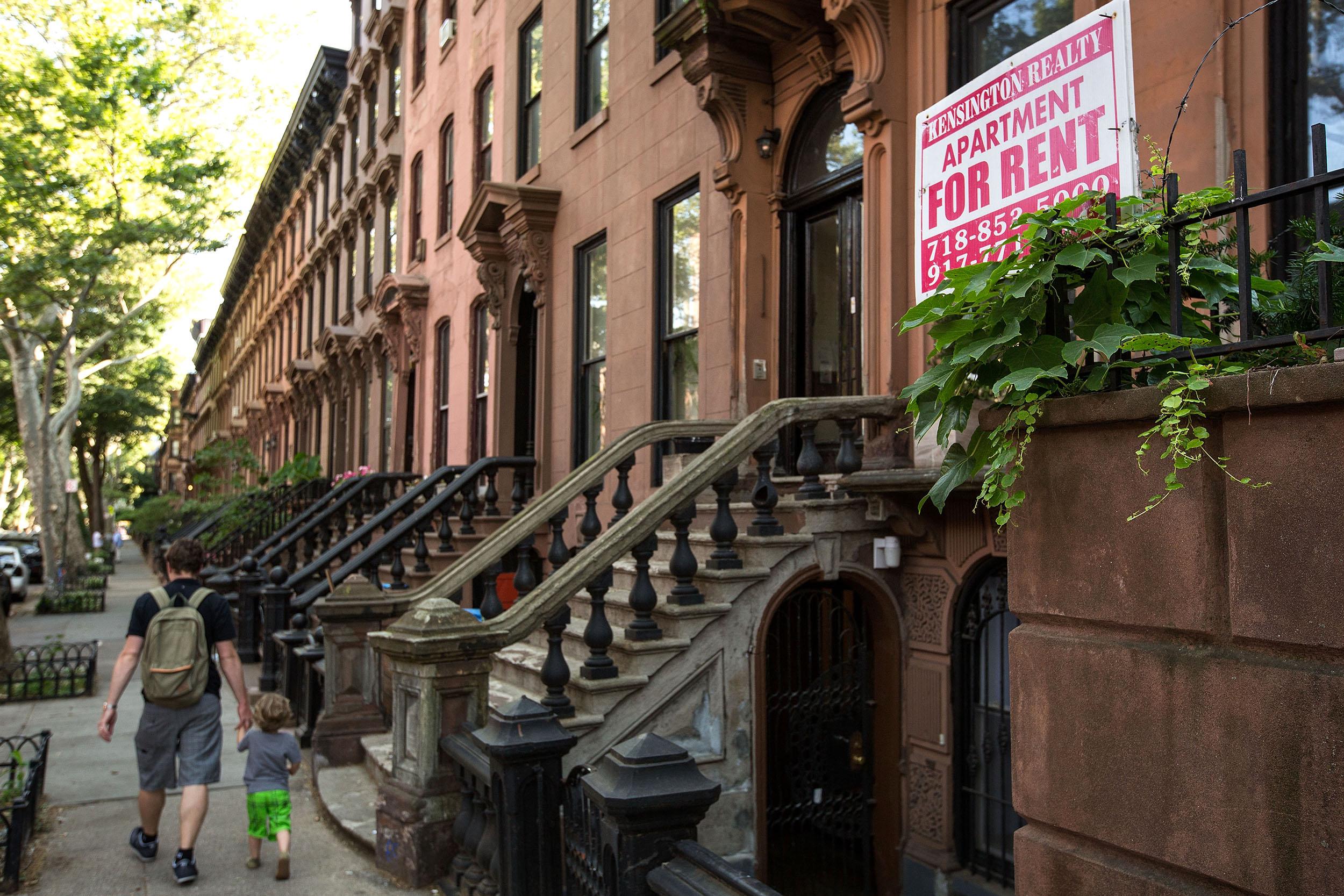 Image: Brooklyn Brownstones