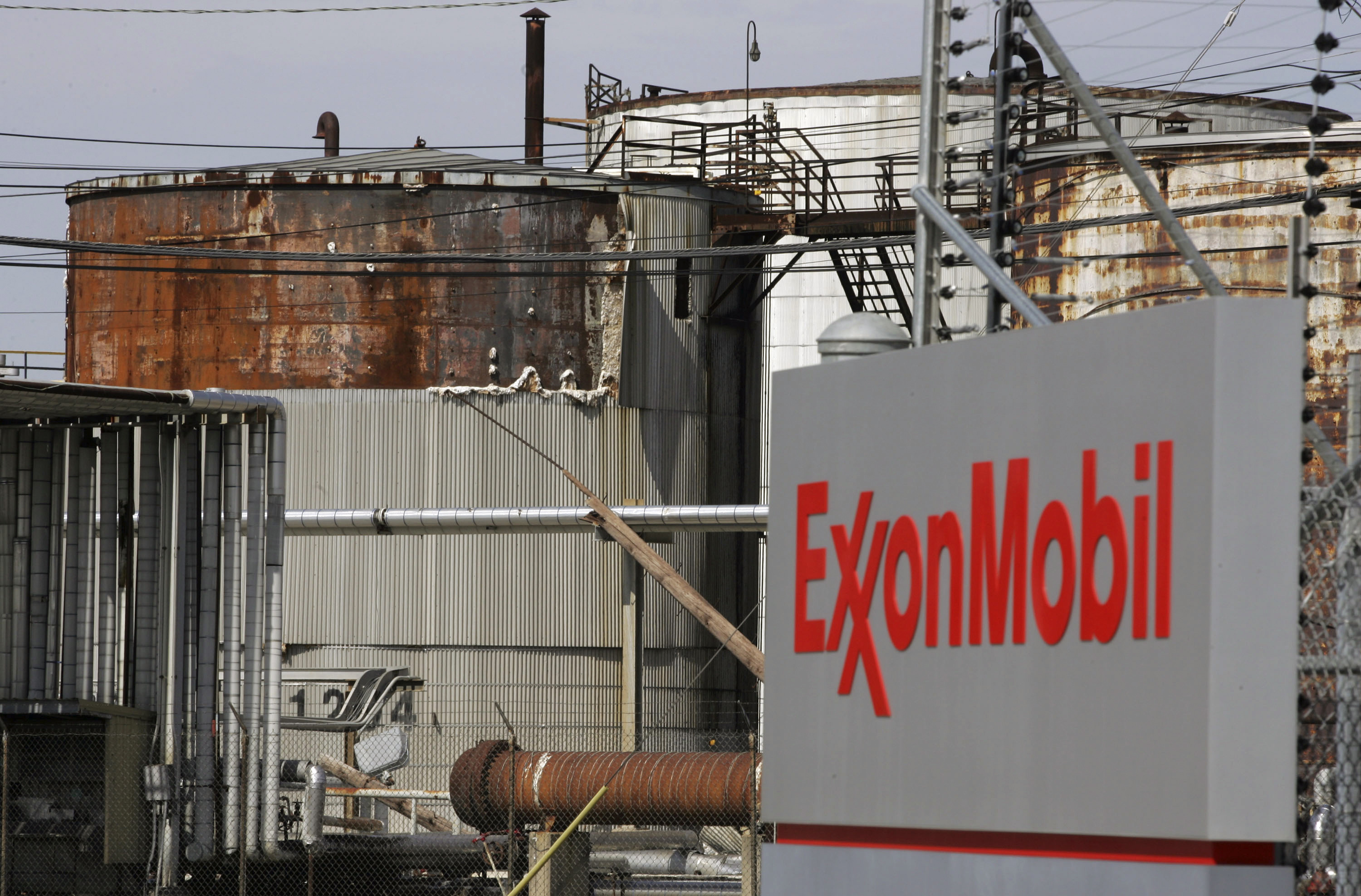 Image: File photo of the Exxon Mobil refinery in Baytown, Texas