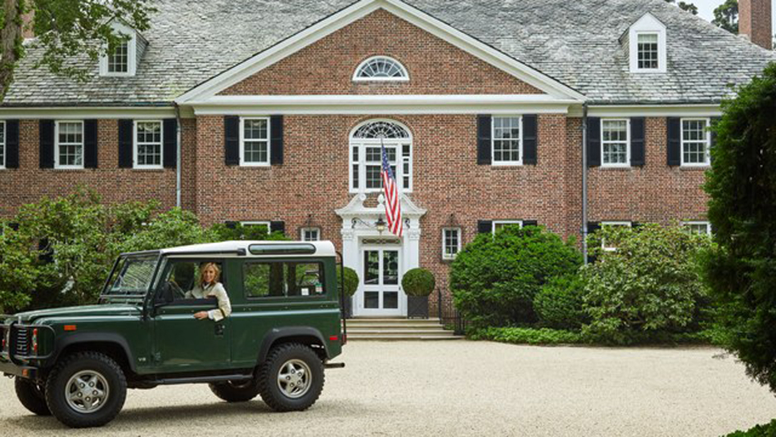 e10b4cb6eb3 Tory Burch s preppy Hamptons home is exactly what we d picture