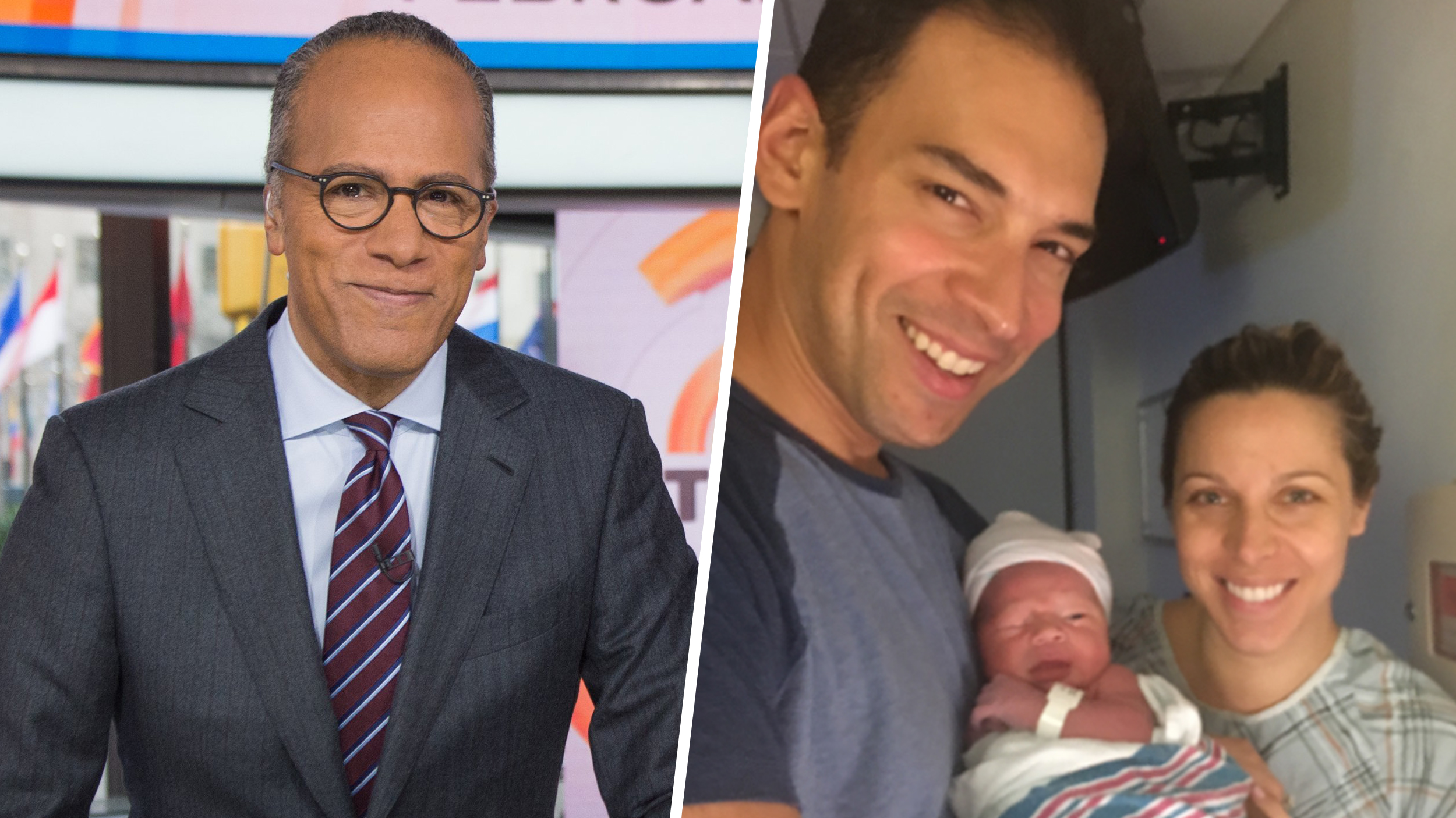 Lester Holt Is A Grandfather Son Stefan Welcomes Baby Boy