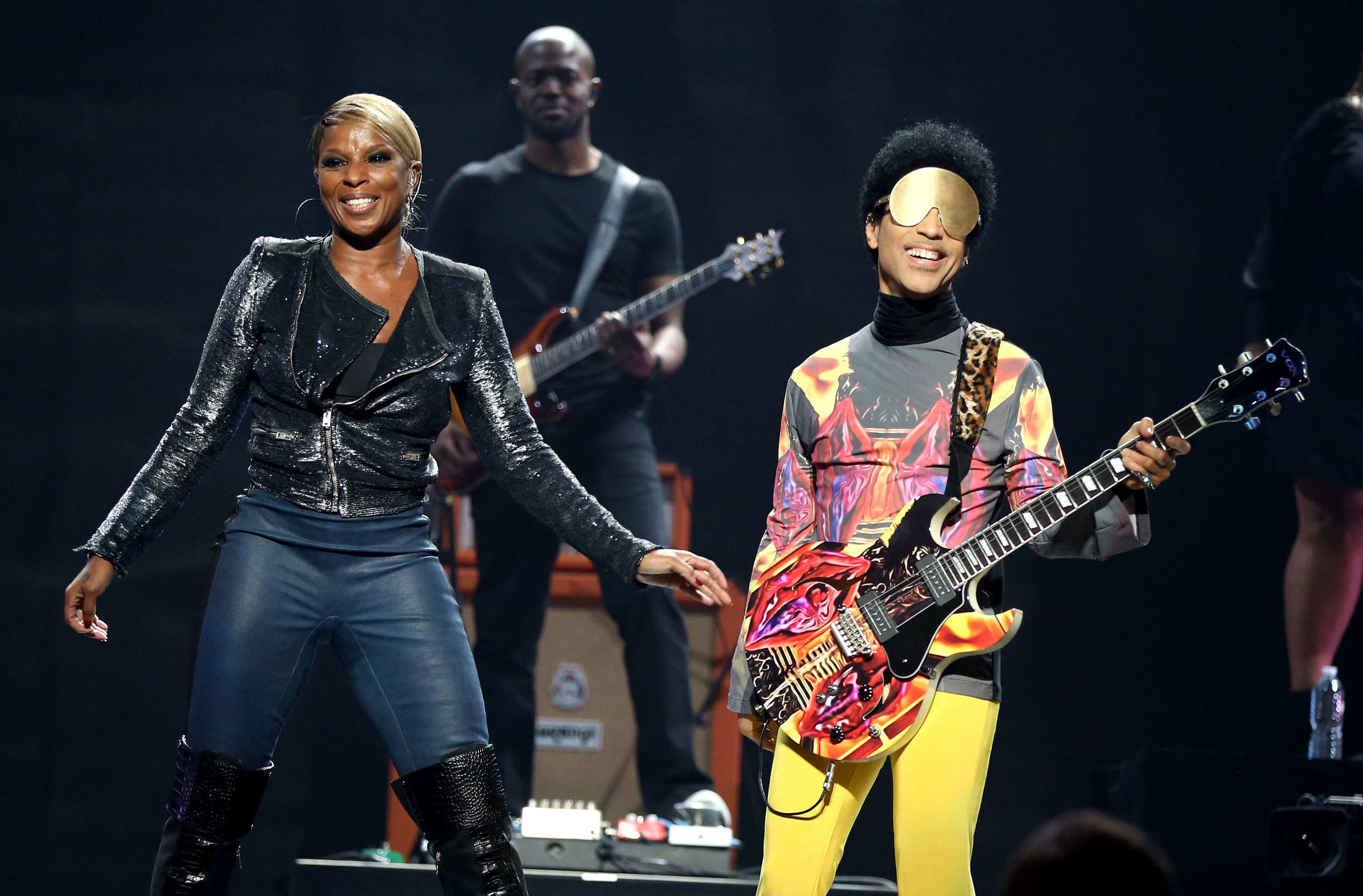 Image: Mary J. Blige and Prince 2012 iHeartRadio Music Festival