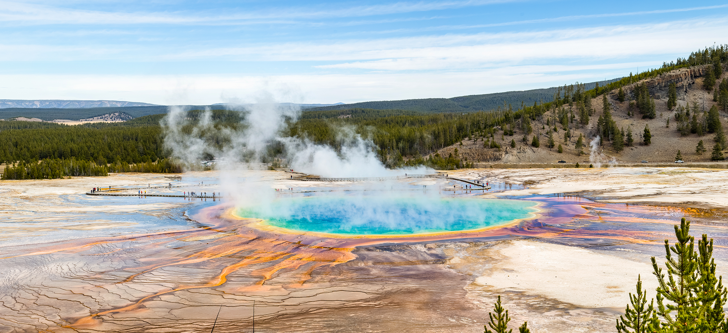 Image: Grand Prismatic Overlook Trail