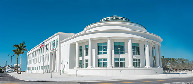 Image: The Homestead, Florida newly built City Hall.
