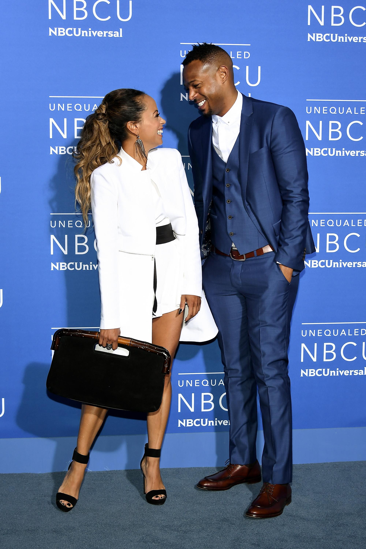 Image: Essence Atkins, Marlon Wayans, 2017 NBCUniversal Upfront
