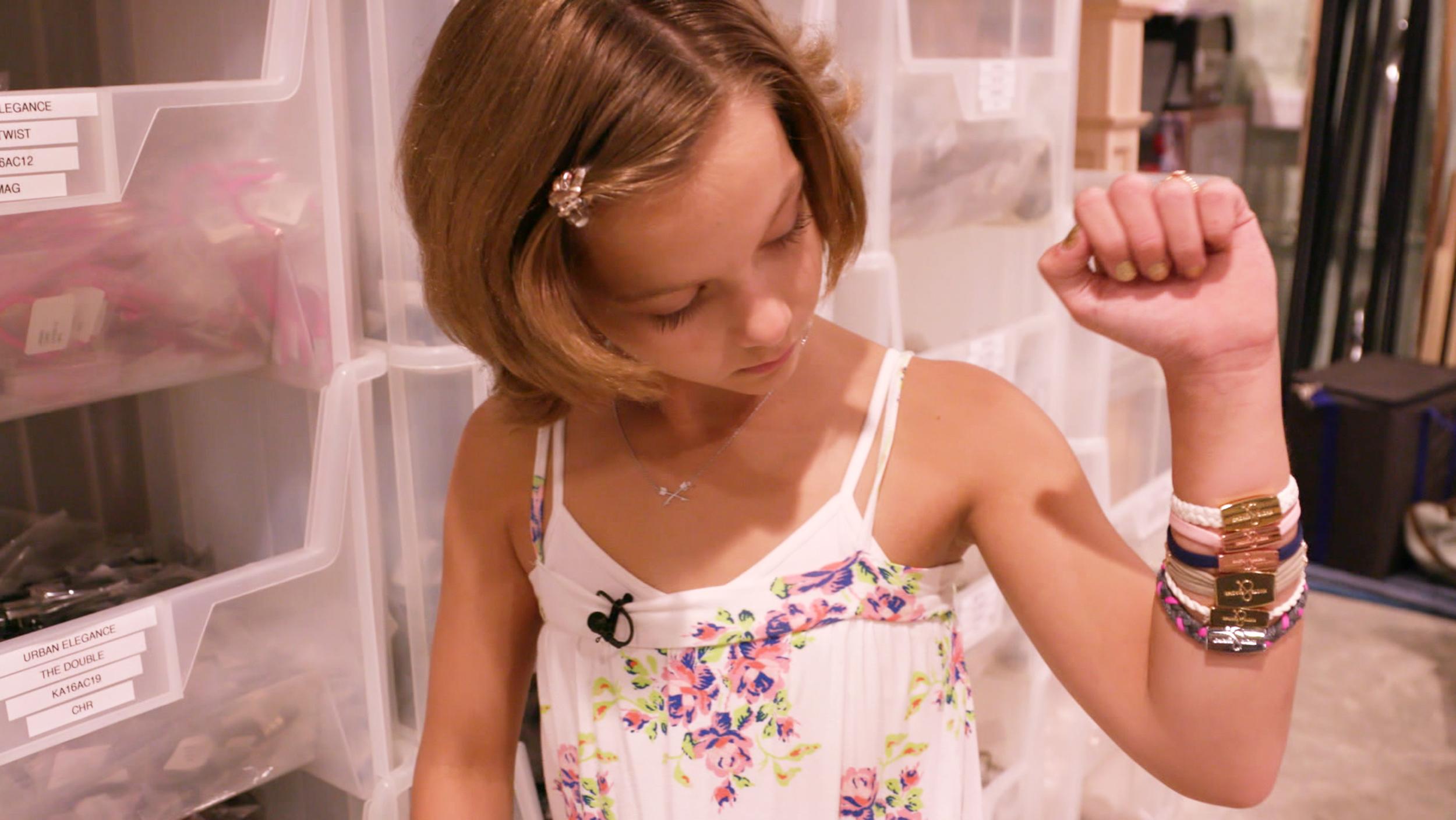 9 Year Old Cancer Survivor Makes Bracelets Help Other Kids