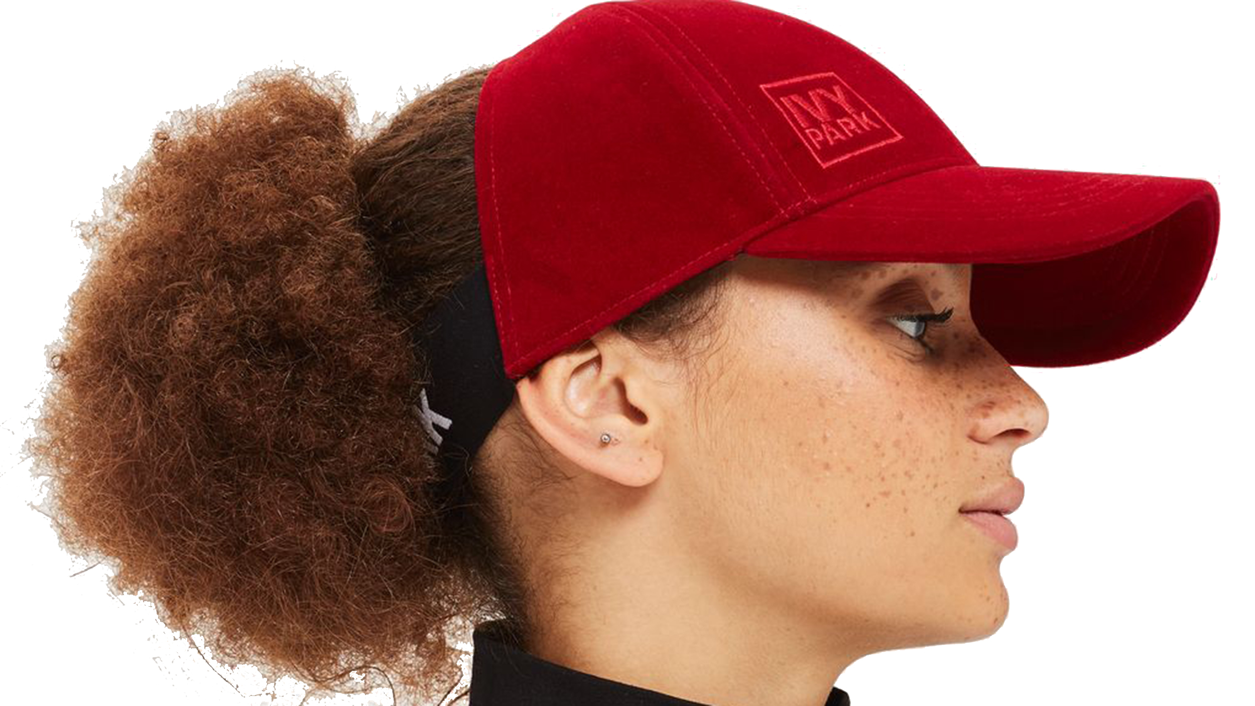 6acf8bdee6b0 This baseball cap is made for women with curly hair — and it s genius