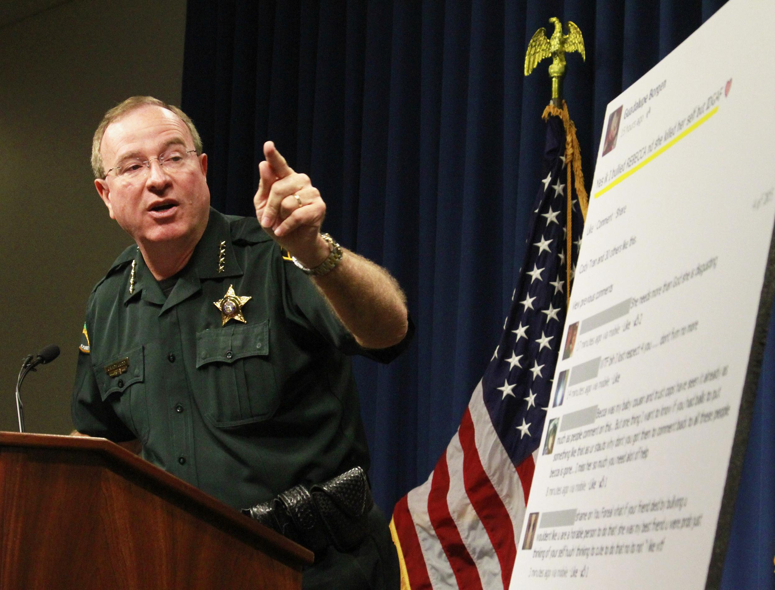 Image: Polk County, Florida, Sheriff Grady Judd