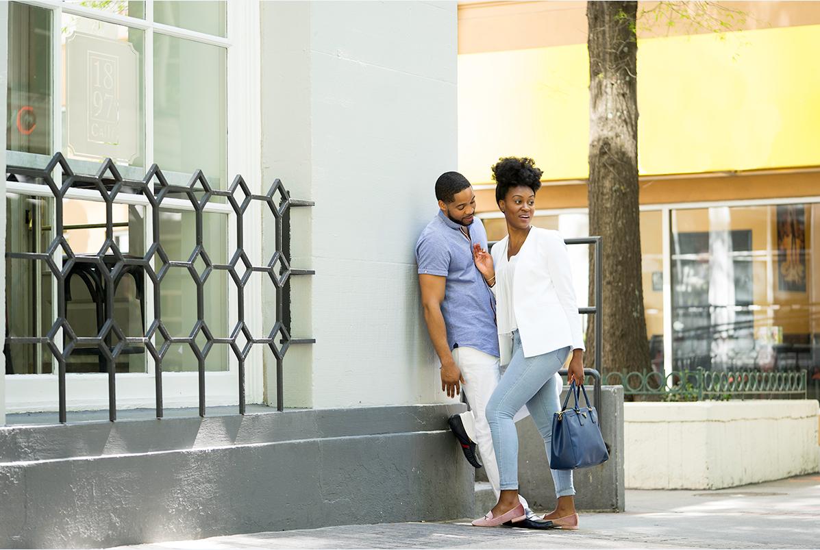 Image: BRWN Stock Image, black couple