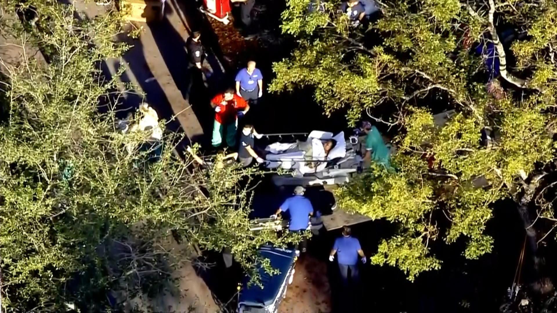 Image: Nursing home evacuated in Florida