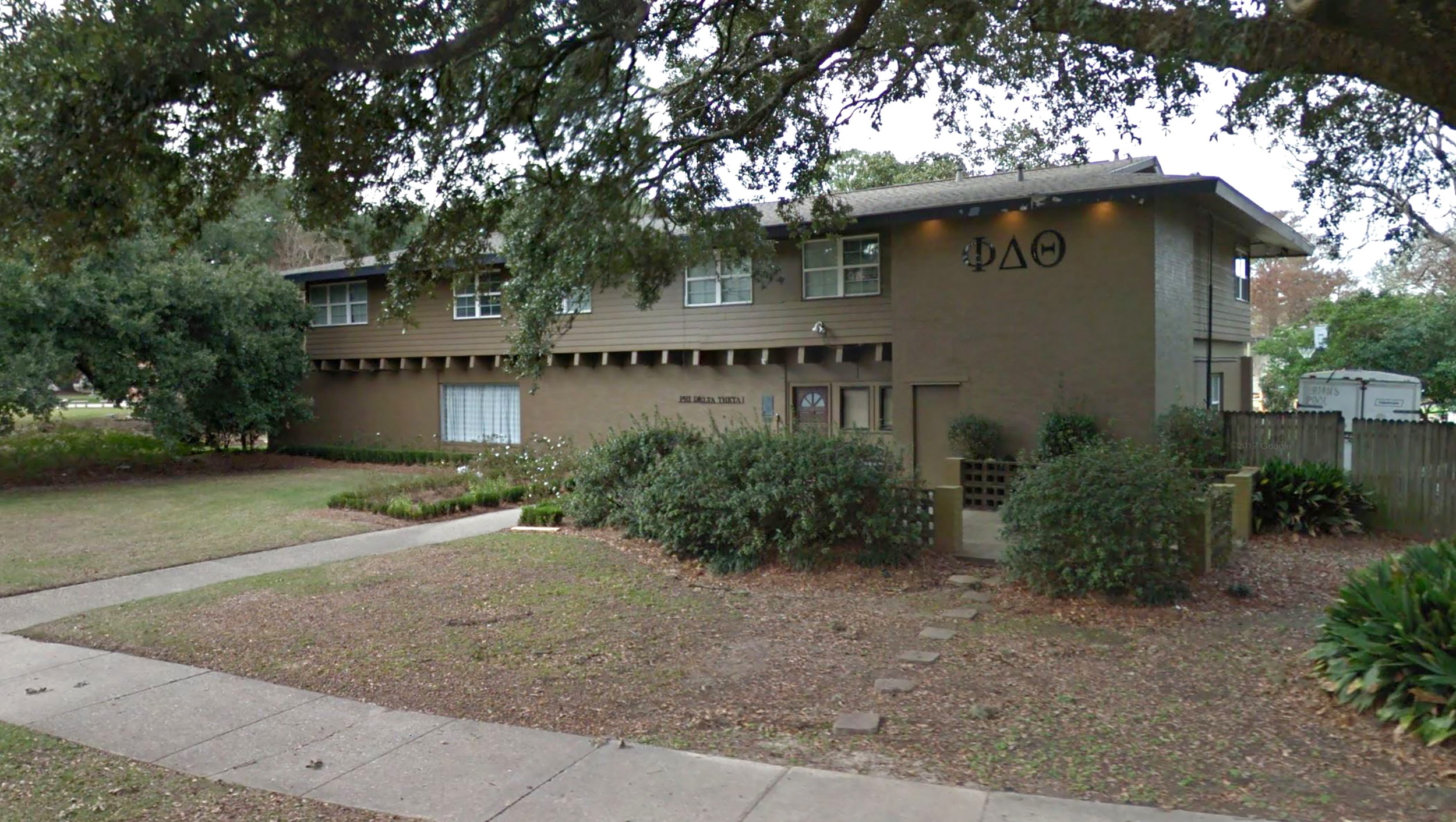 Image: Phi Delta Theta fraternity at LSU