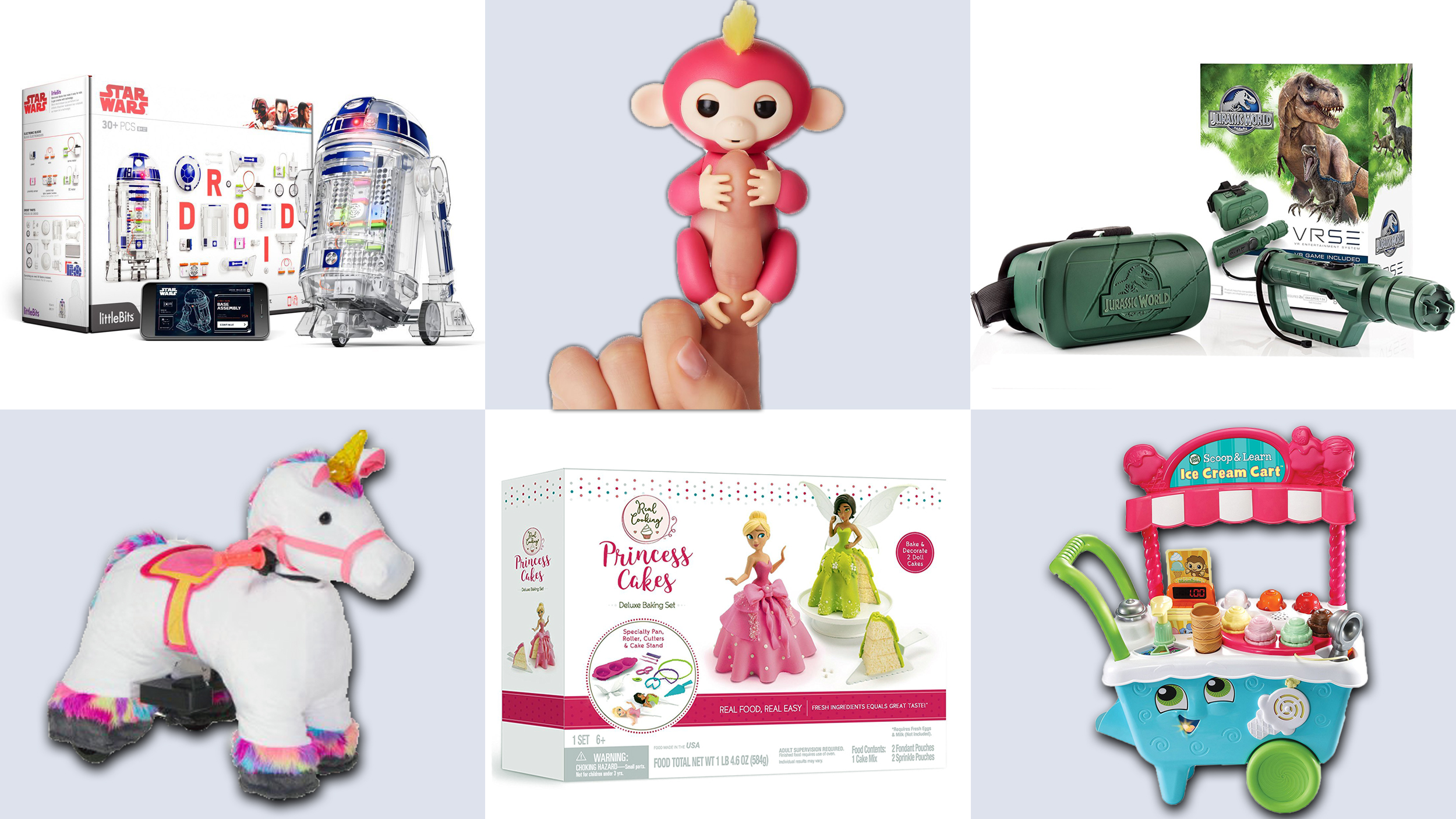 Hottest holiday toys for 2017 Fingerlings Droid inventor VRSE