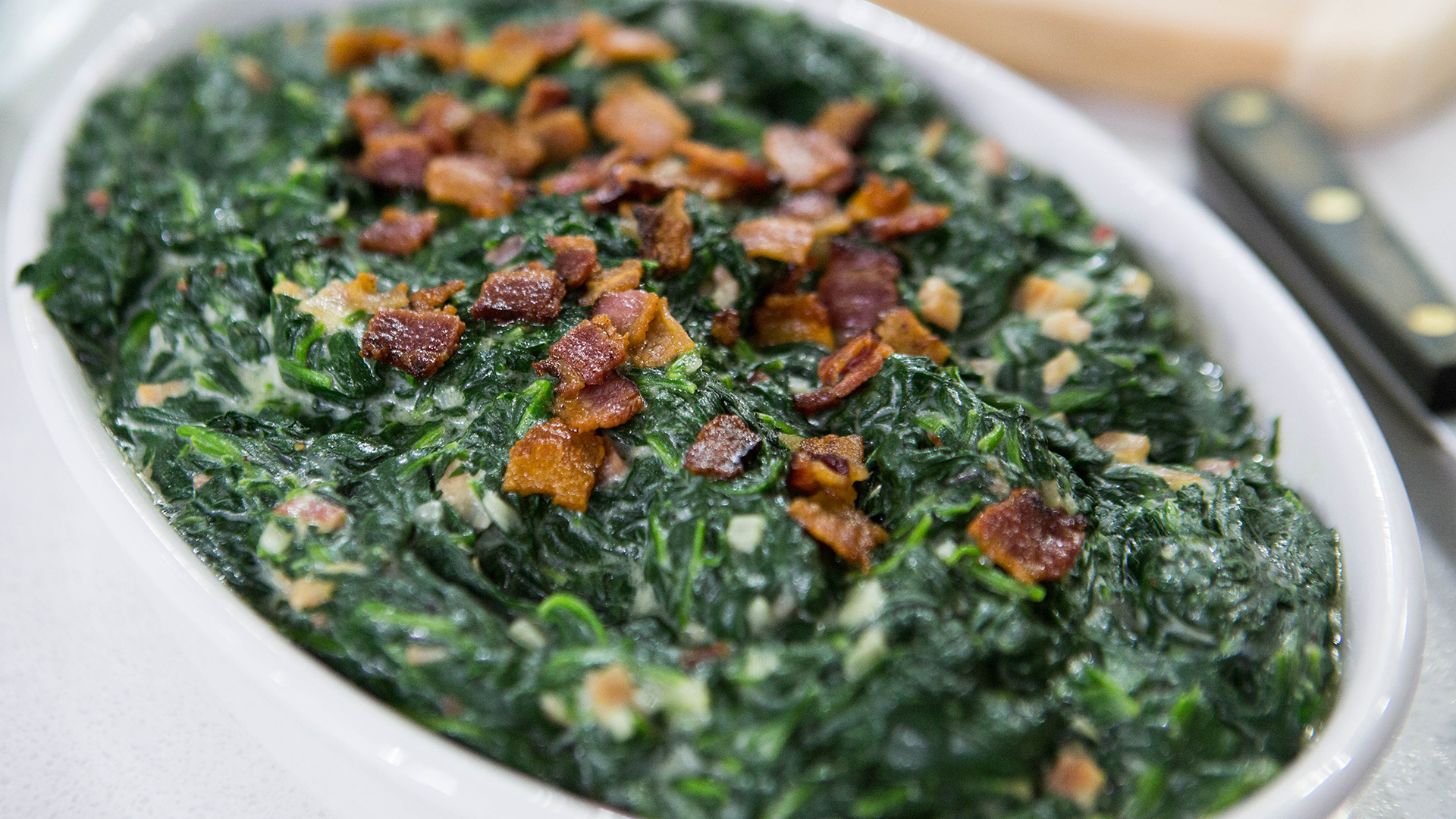 Al Roker's Creamed Spinach with Bacon - TODAY.com