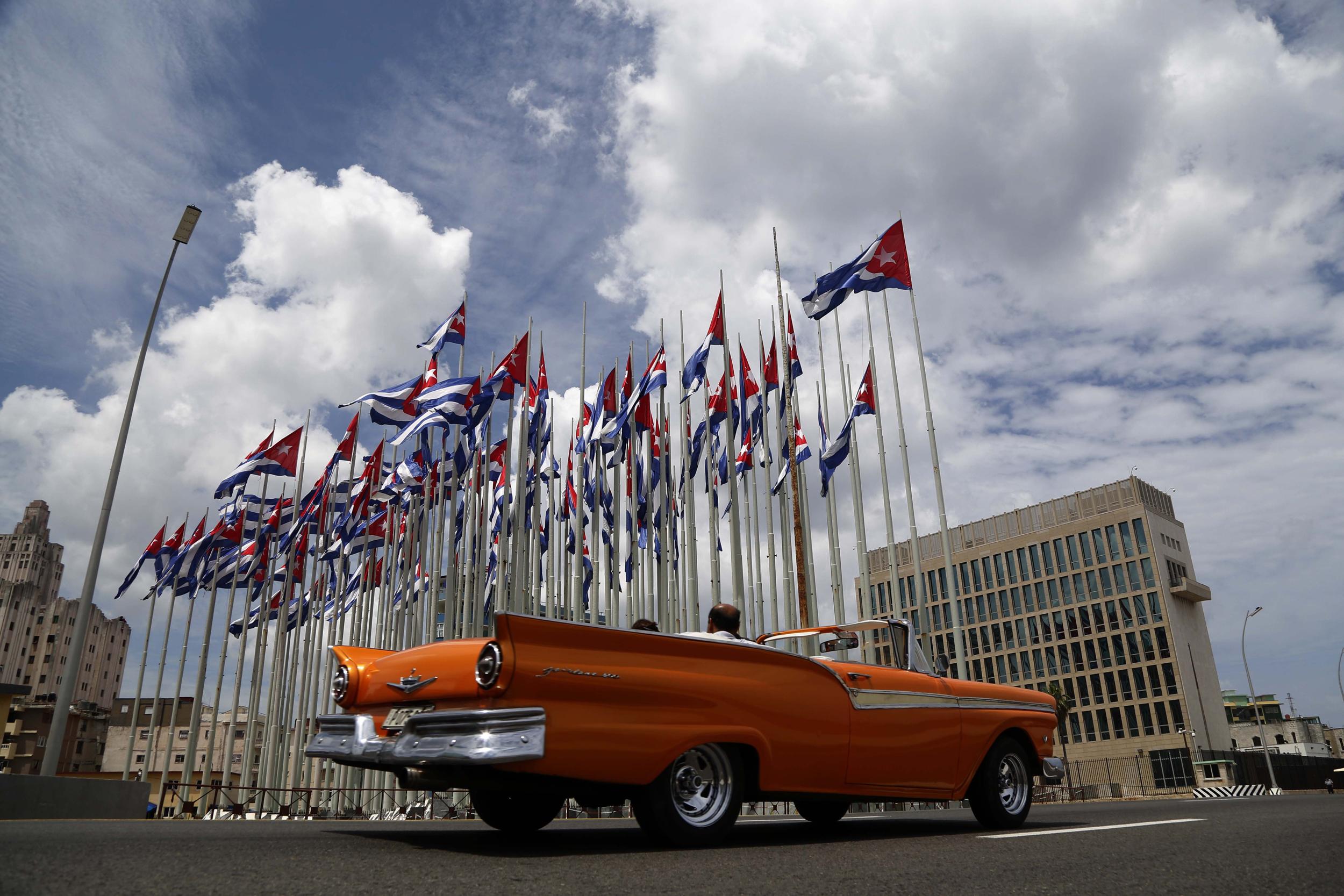 Cuba Embassy Attacks Baffle US Frustrate Victim