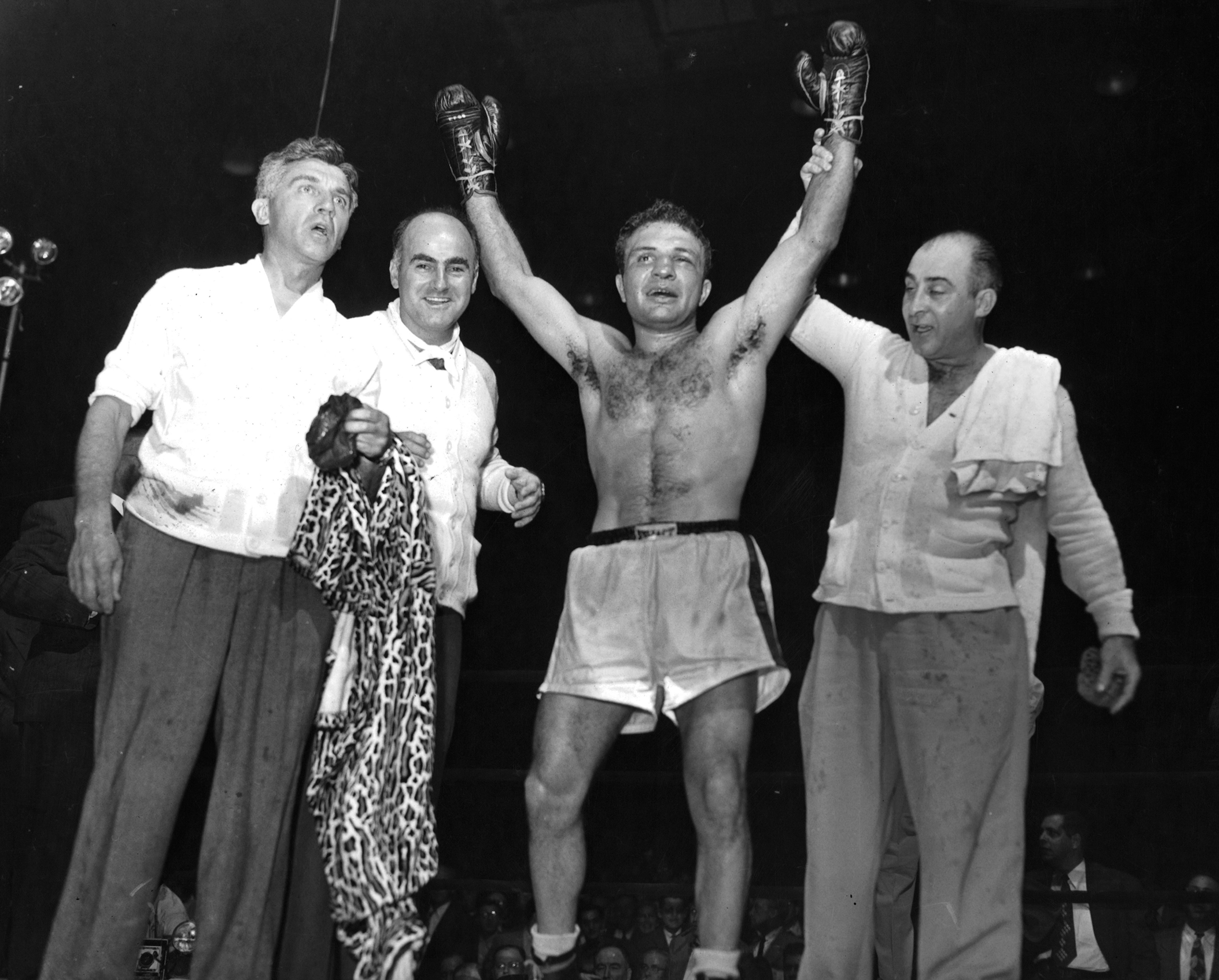 Jake LaMotta, Legendary Boxer Immortalized in 'Raging Bull