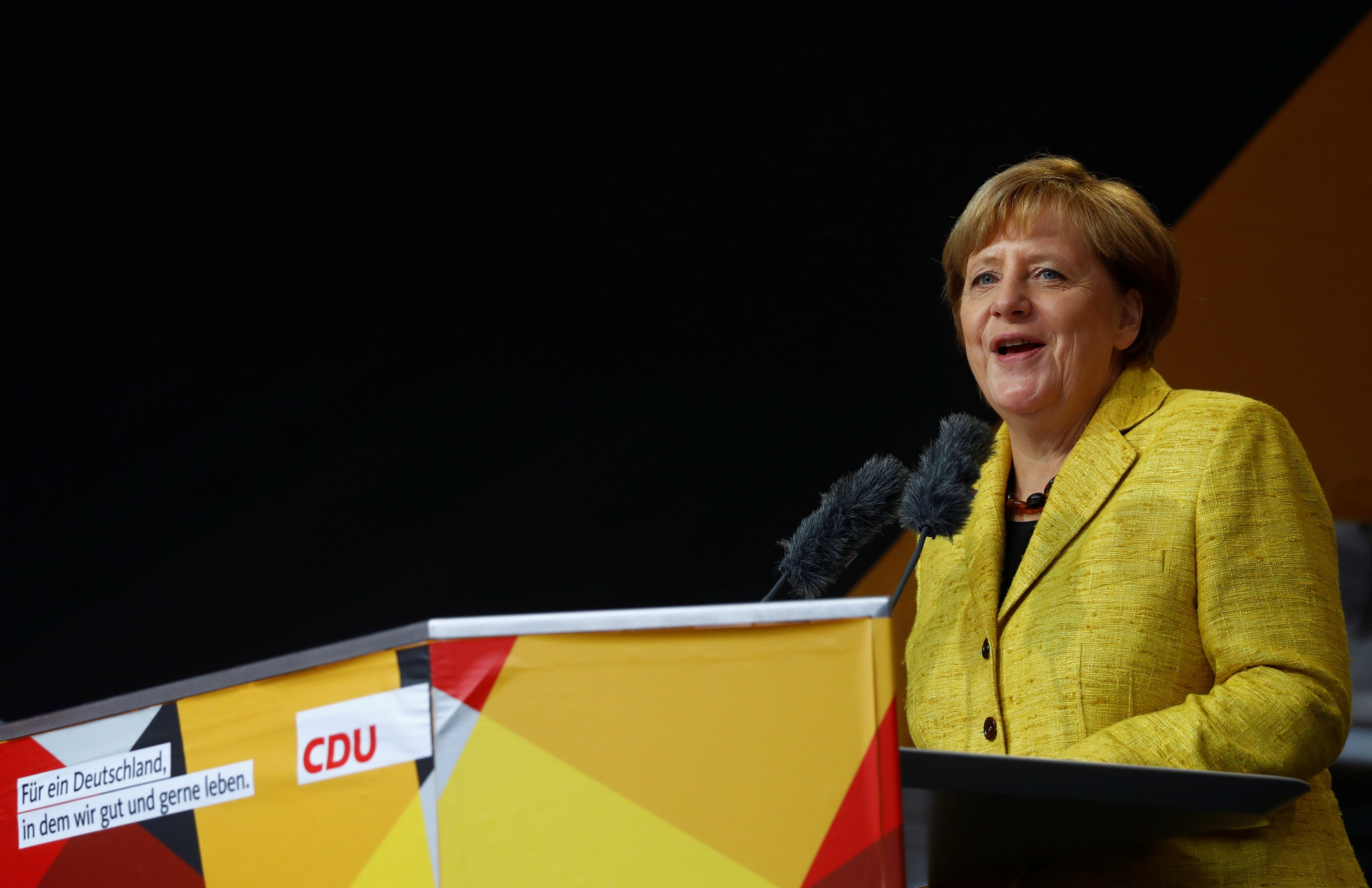 The World's Most Powerful Woman Is Seen Rather Differently in Germany