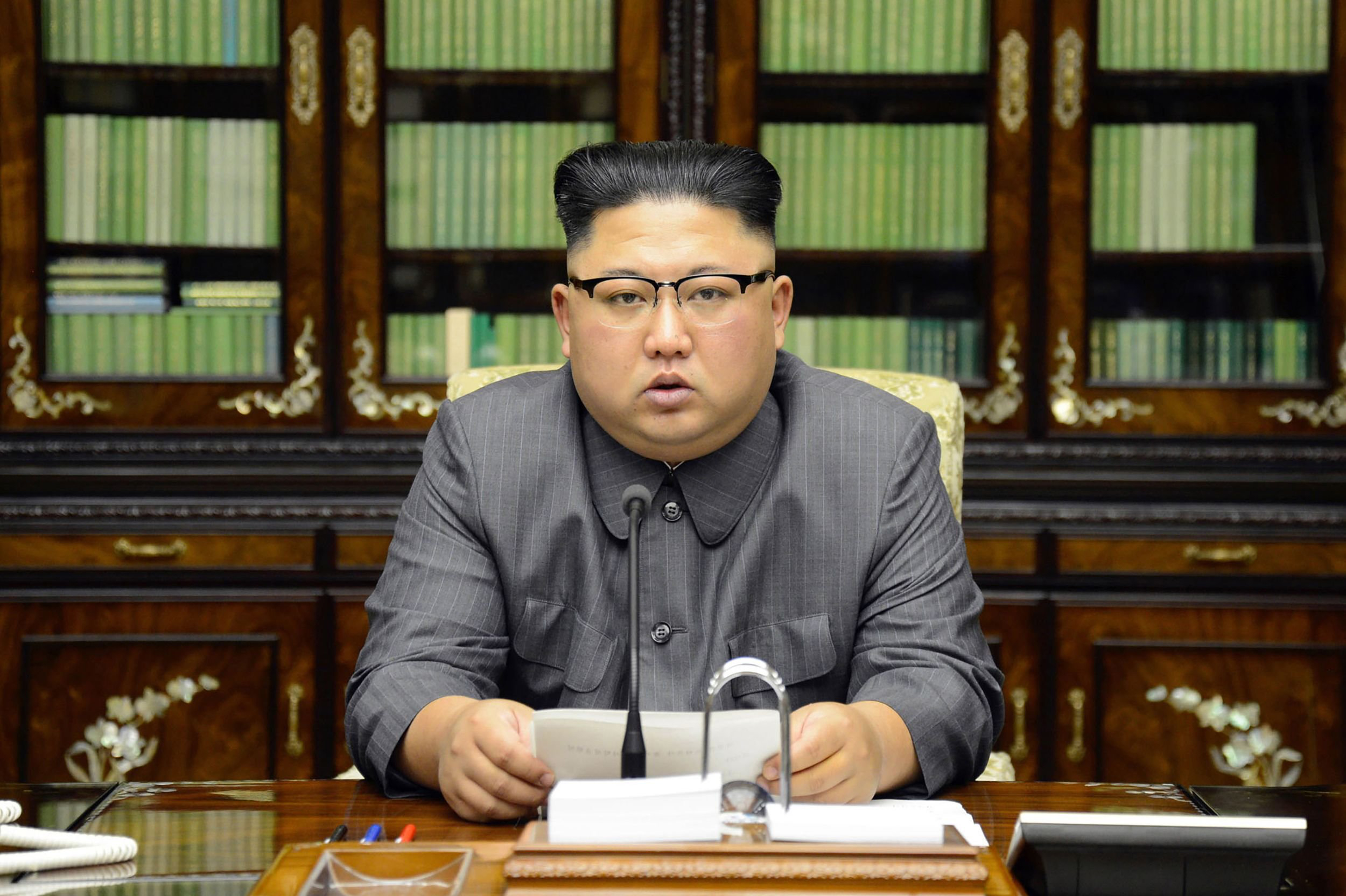 Kim Jong Un Calls President Trump Dotard And Frightened Dog