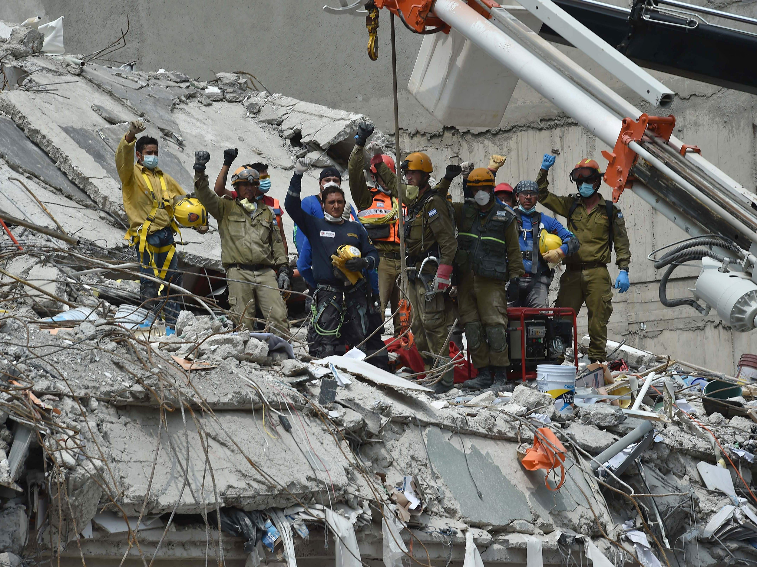 Hope in the Rubble: Survivors Rescued 2 Days After Mexico Quake