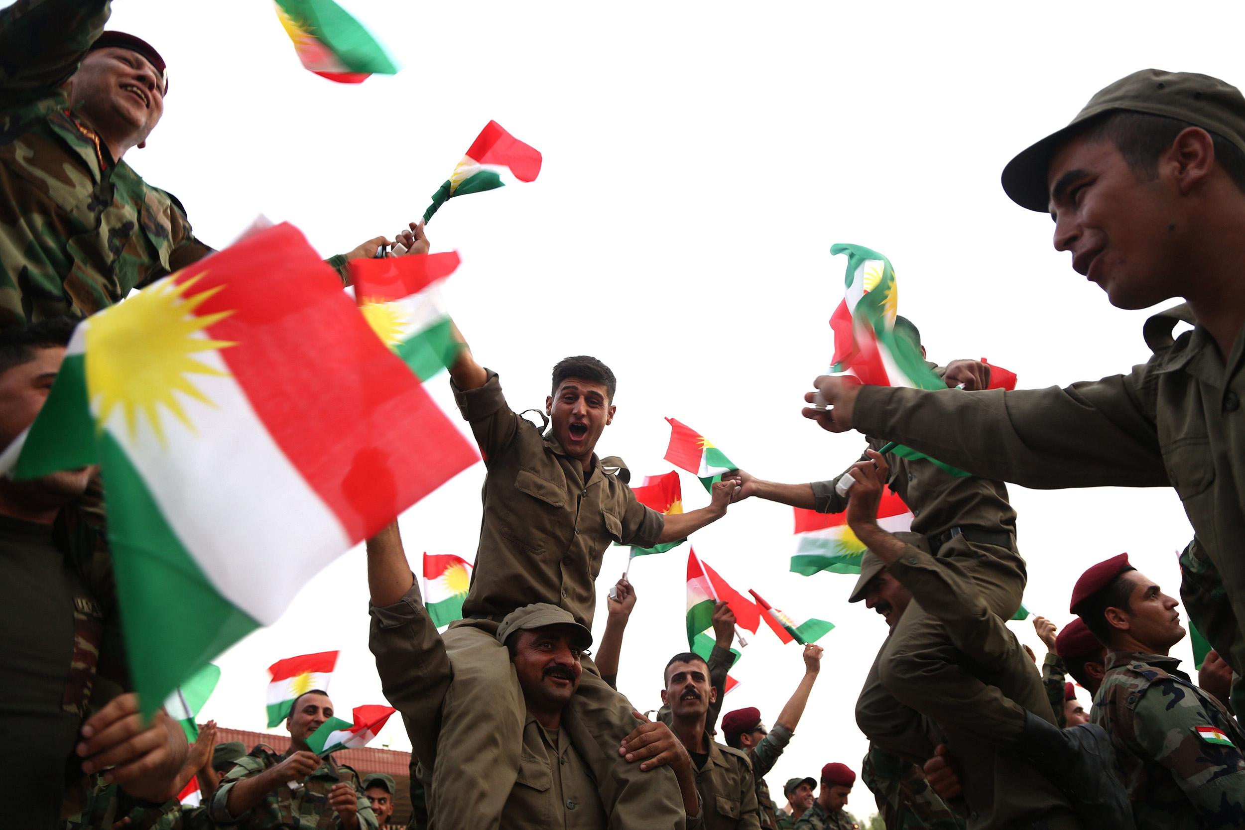 Image: Referendum for Independence for Kurdistan