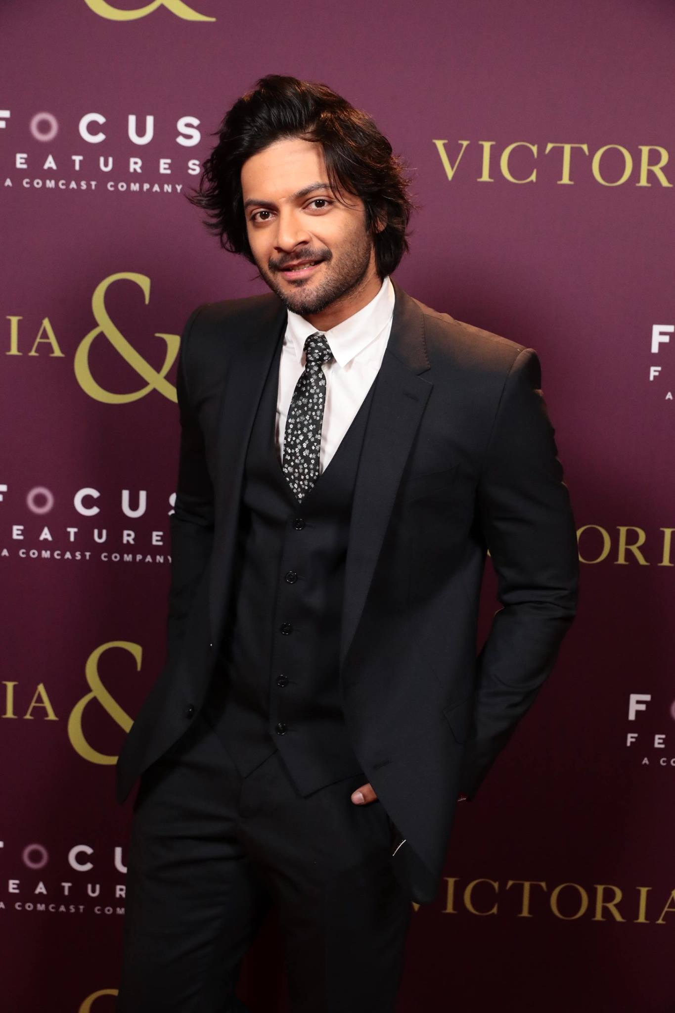 Ali Fazal at the Los Angeles premiere of