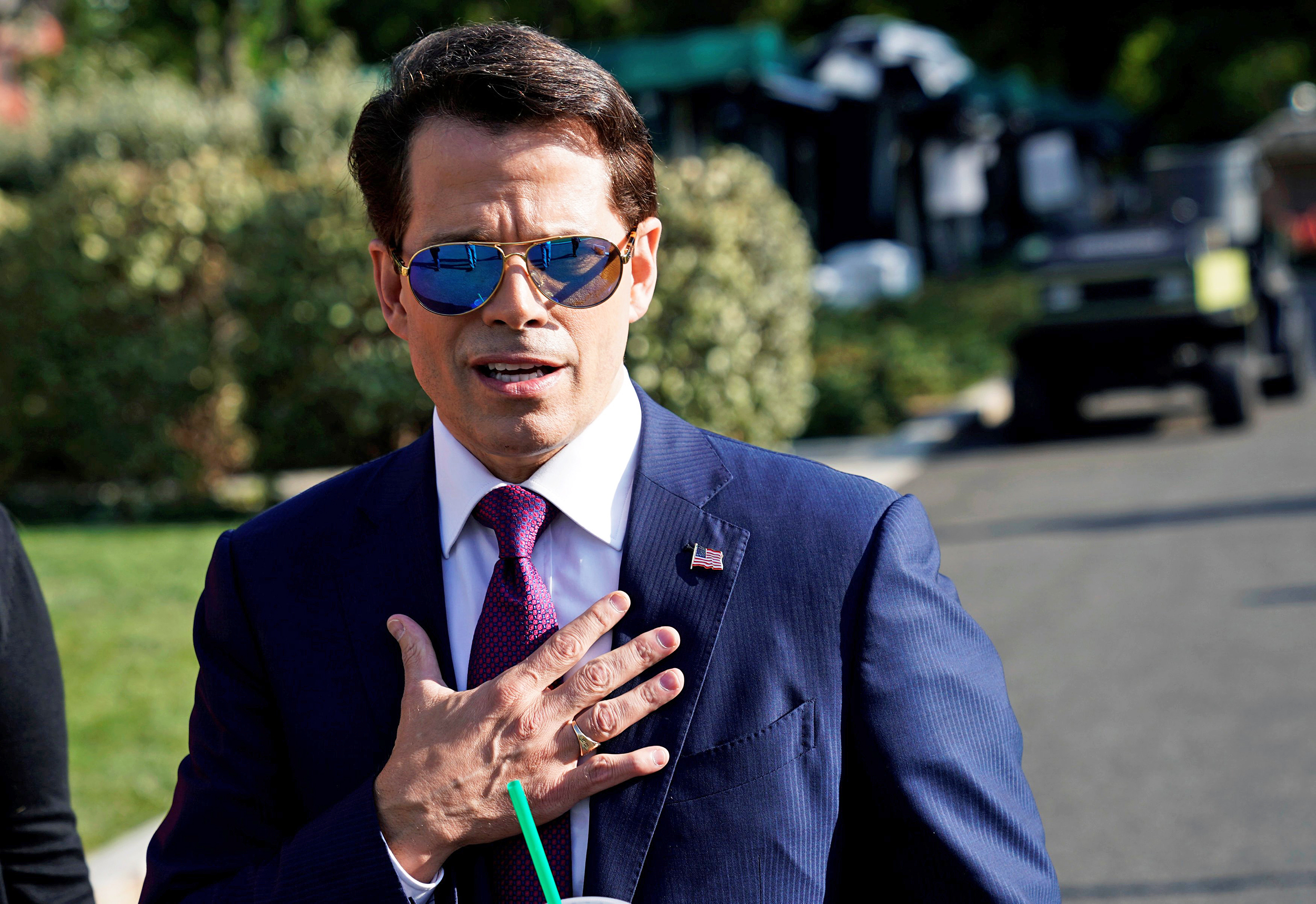 Scaramucci Takes Revenge on White House Staffers