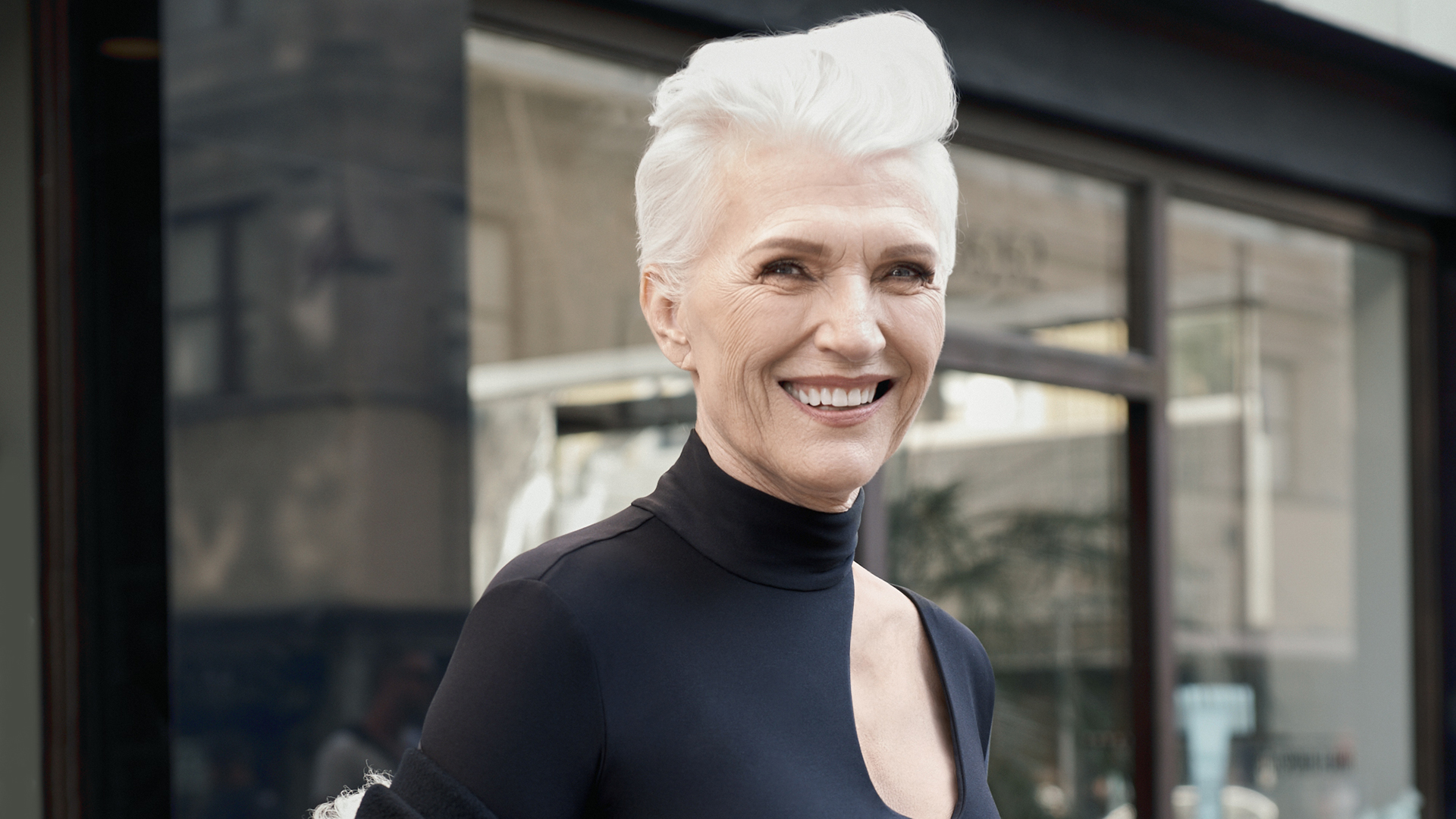 The newest CoverGirl is 69-year-old model Maye Musk
