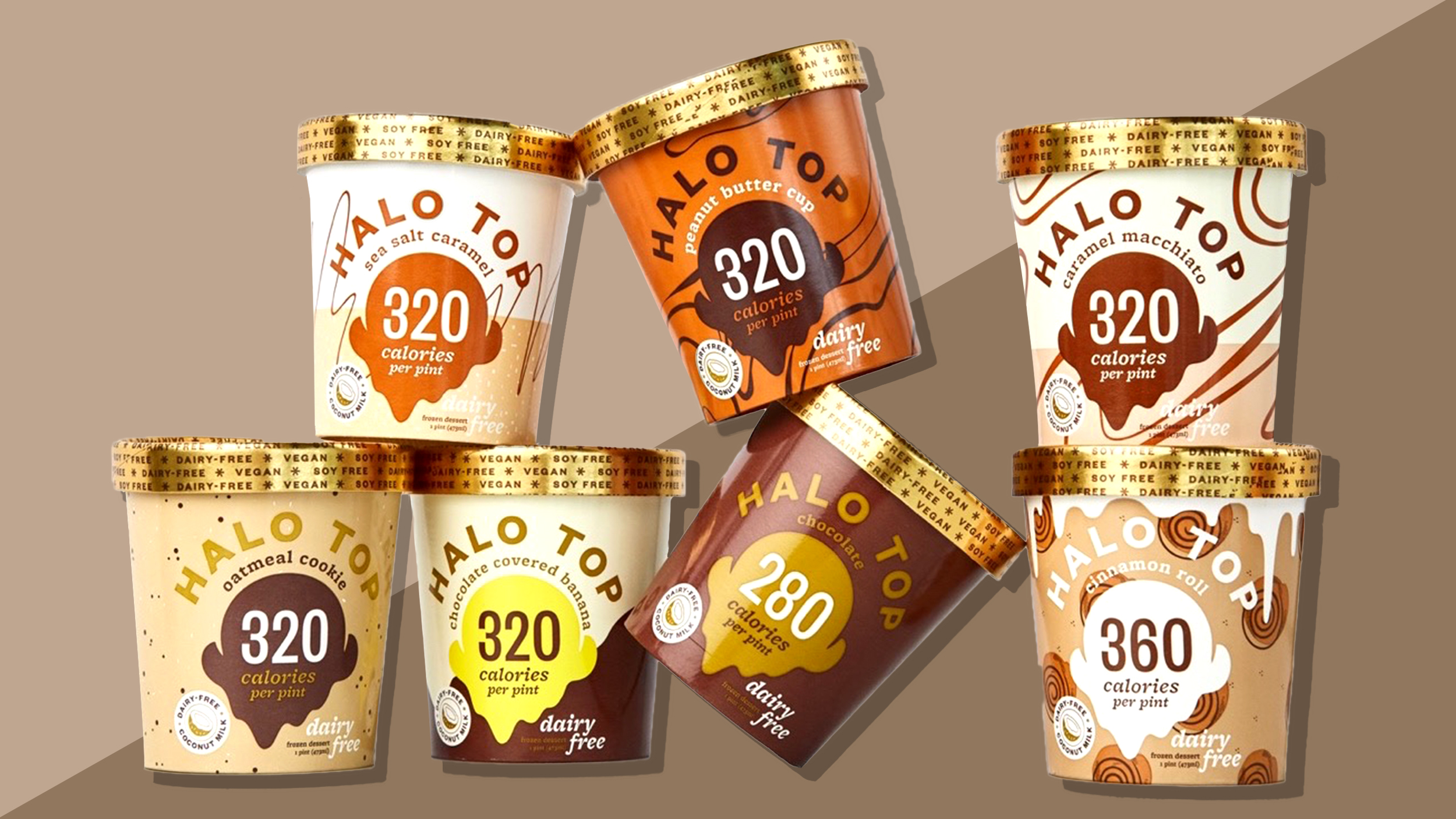 Halo Top Now Has Vegan And Dairy Free Ice Cream
