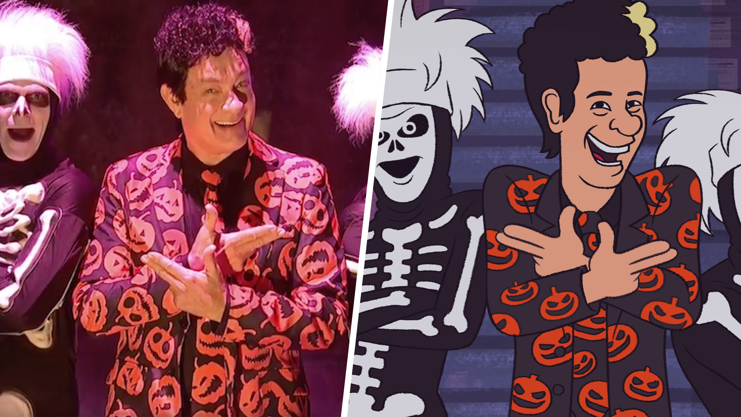 Will David S Pumpkins Halloween Special Be On In 2020 Tom Hanks will reprise David S. Pumpkins for animated Halloween