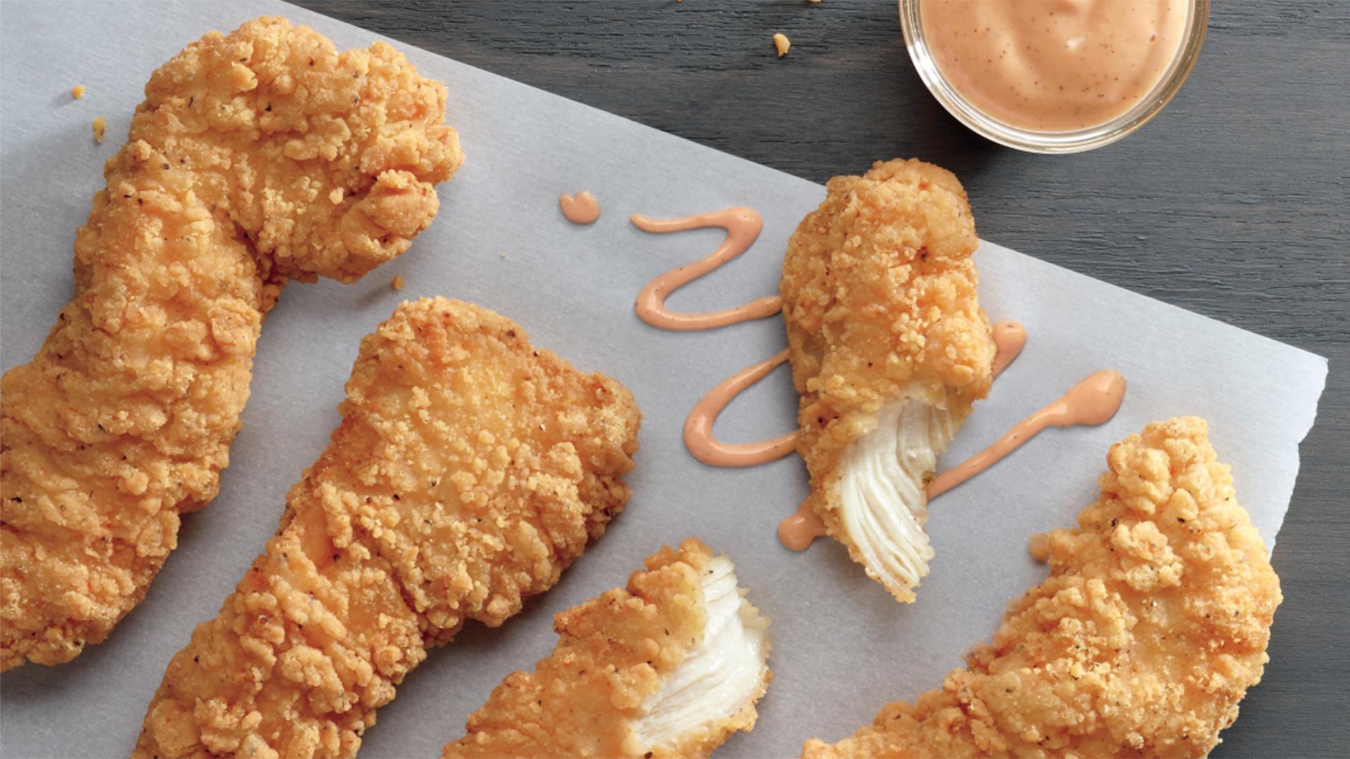 McDonaldu0027s Unveils Crispy Buttermilk Chicken Tenders   TODAY.com