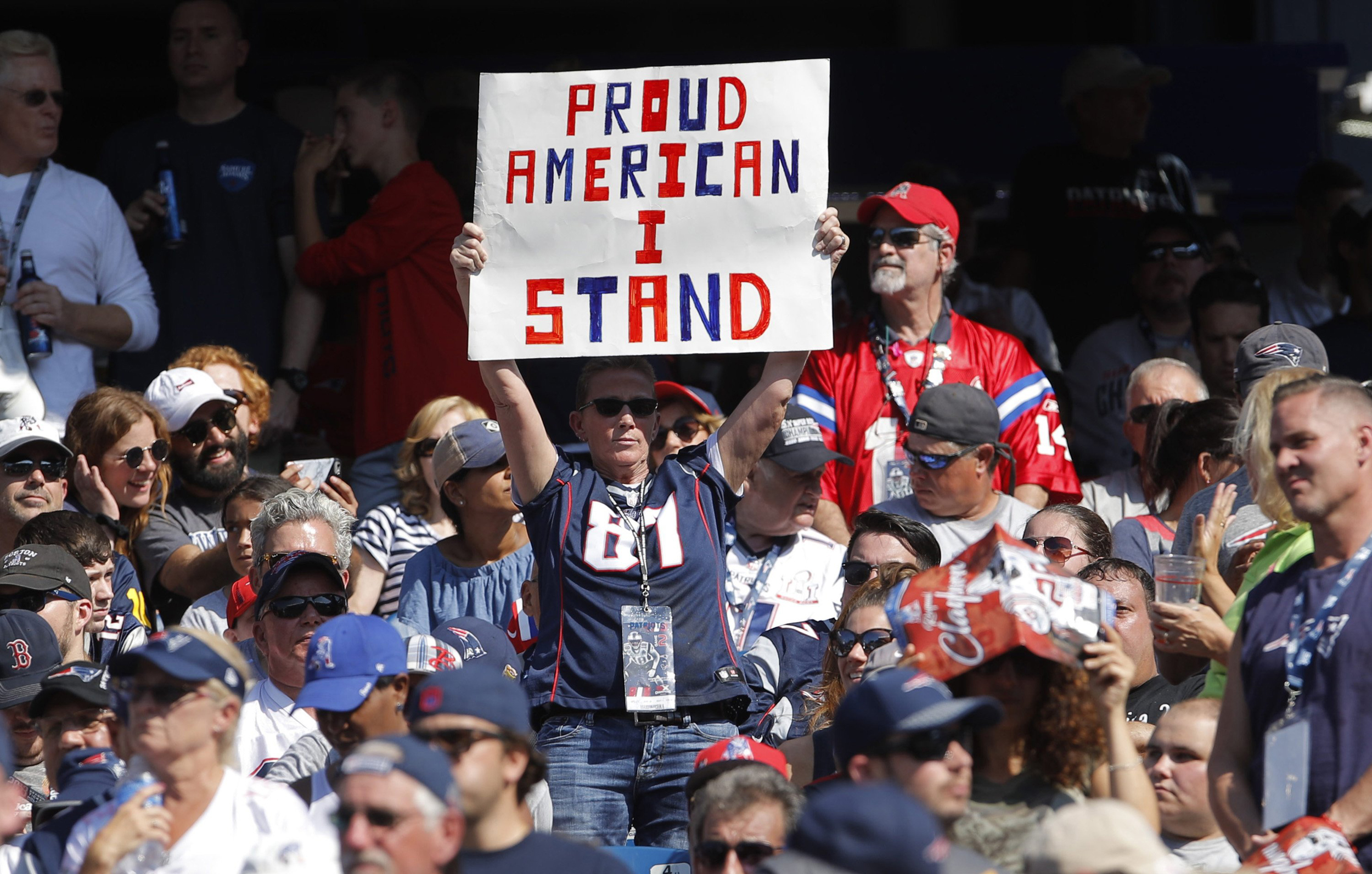 Reaction to Trump's NFL Feud Mounts as Protests Continue in Monday Night Game