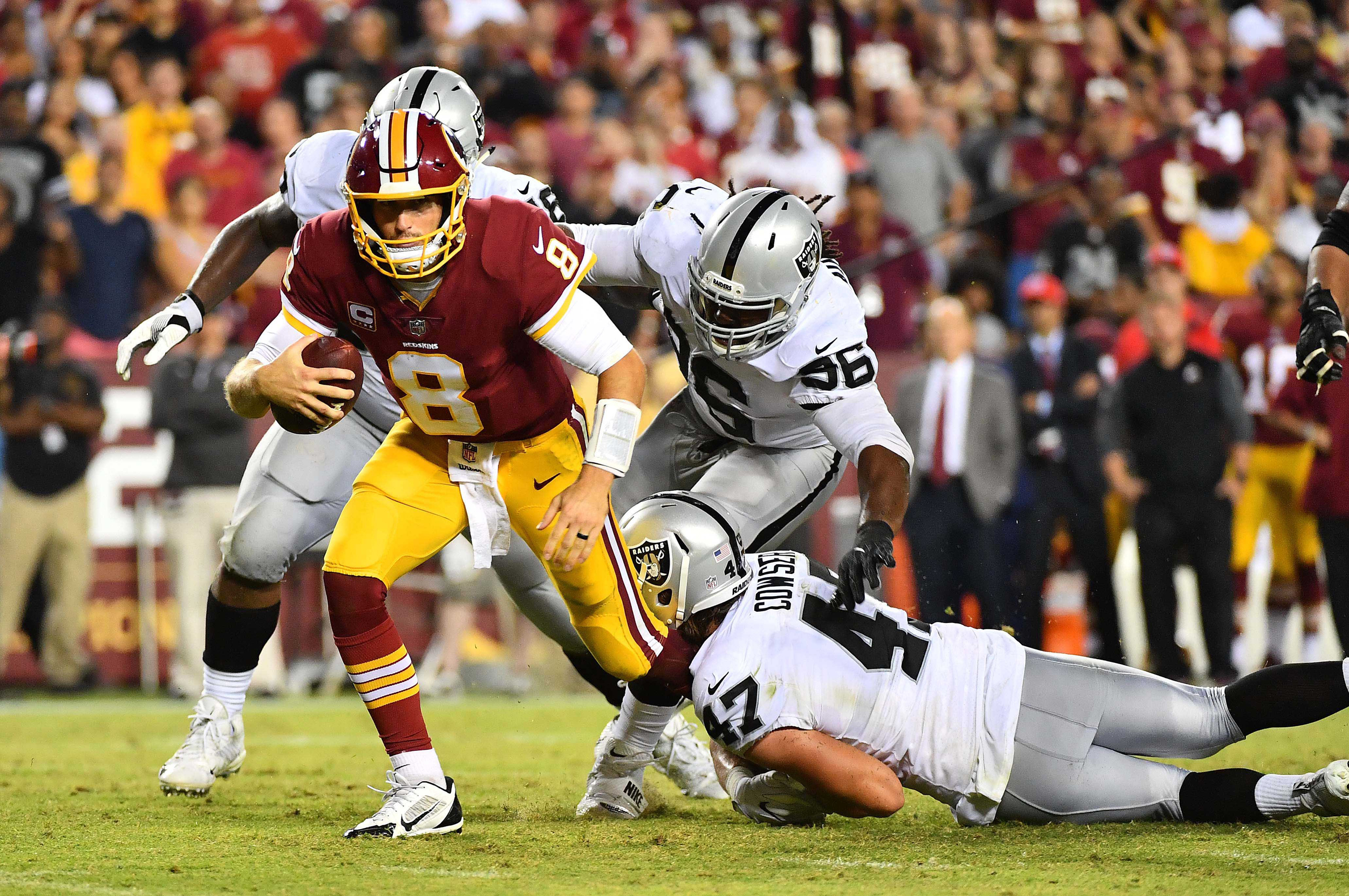 Image: NFL: Oakland Raiders at Washington Redskins