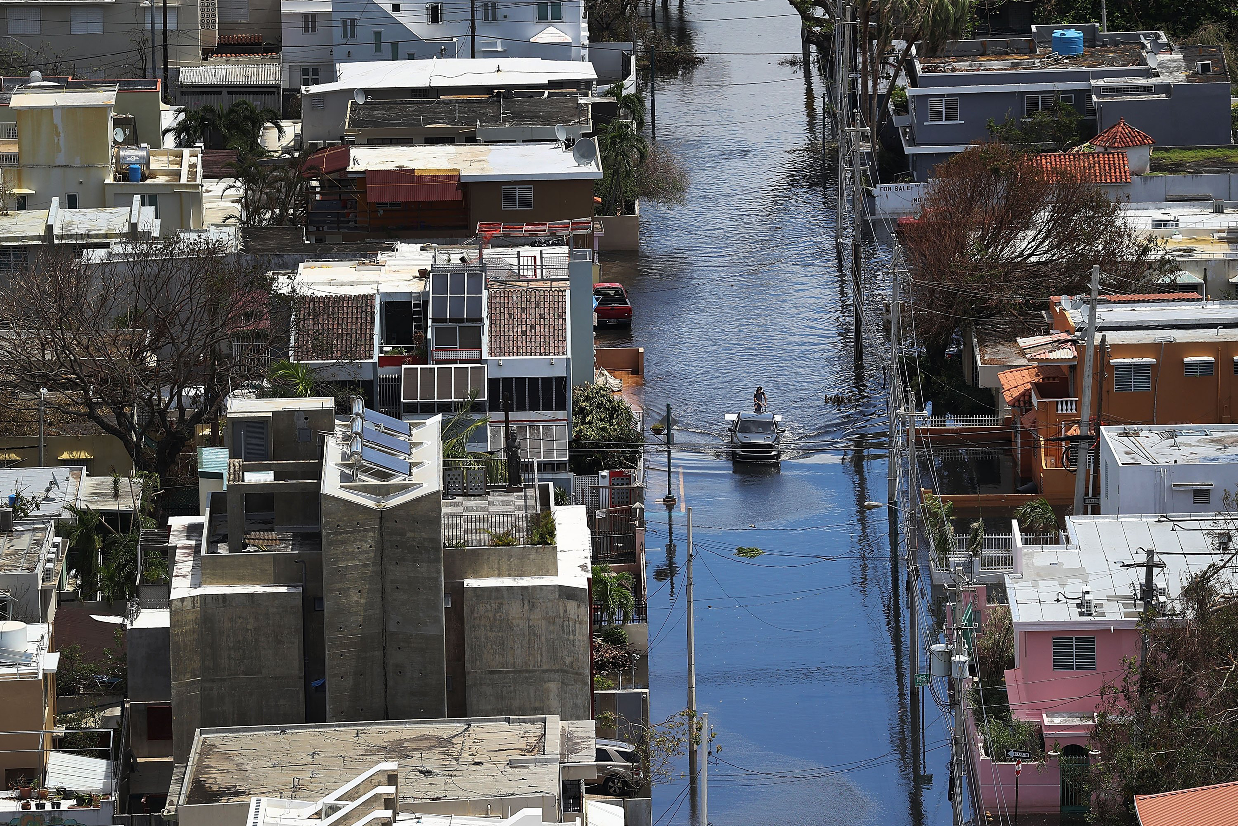 Hot, Tired and Scared: Puerto Ricans Plead for More Help