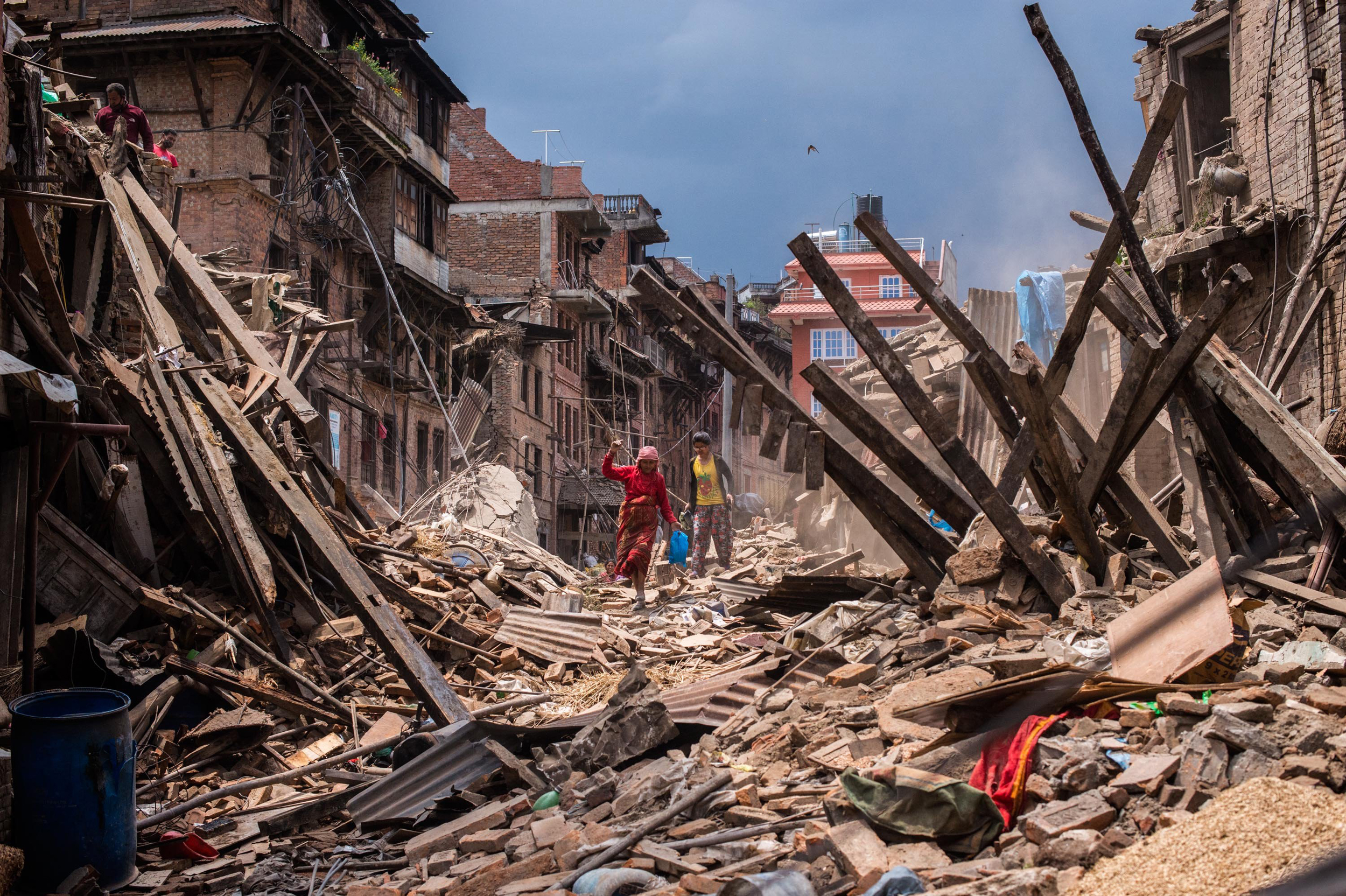 Image: *** BESTPIX *** Rescue Operations Continue Following Devastating Nepal Earthquake