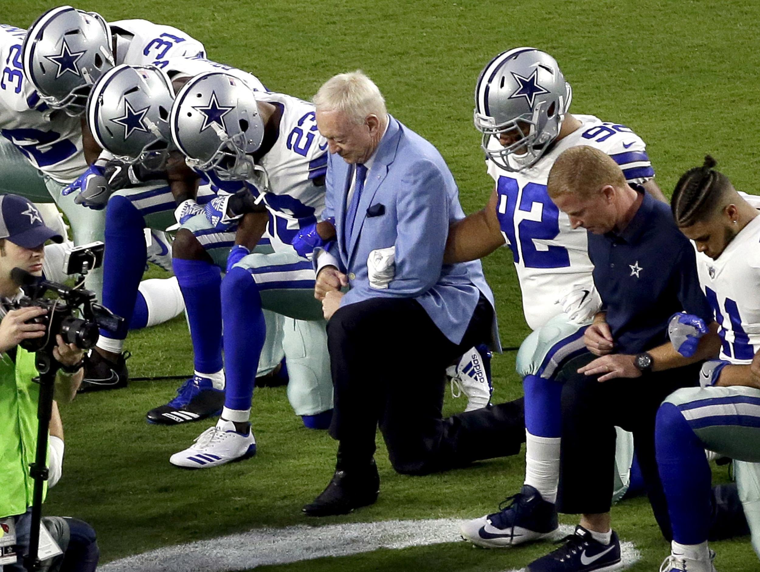4602e301f3b Can Cowboys Owner Jerry Jones Bench a 'Disrespectful' Player?