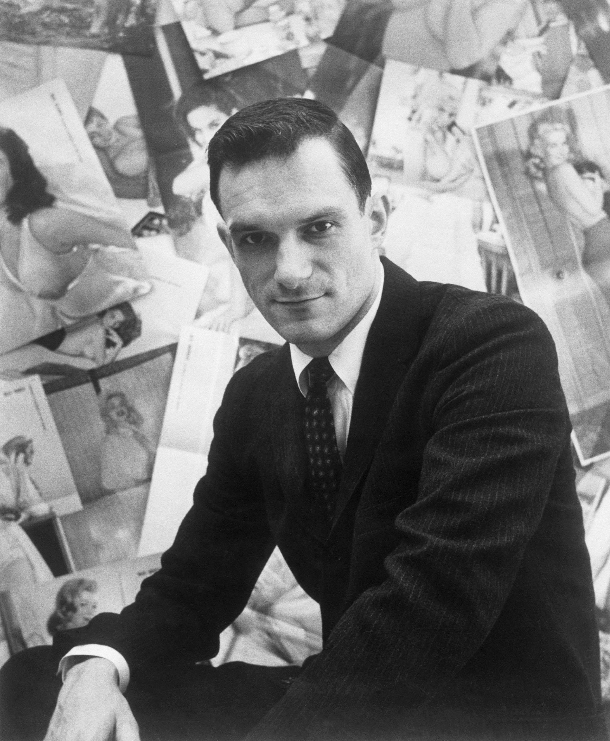 Image: Playboy Publisher Hugh Hefner