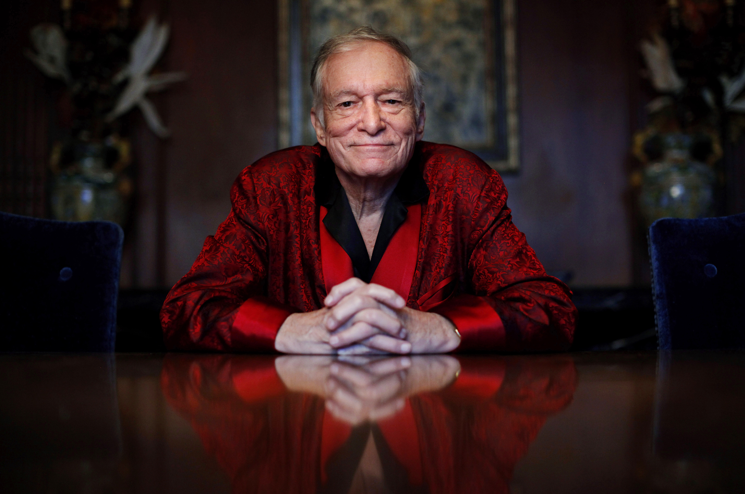 Image result for hugh hefner