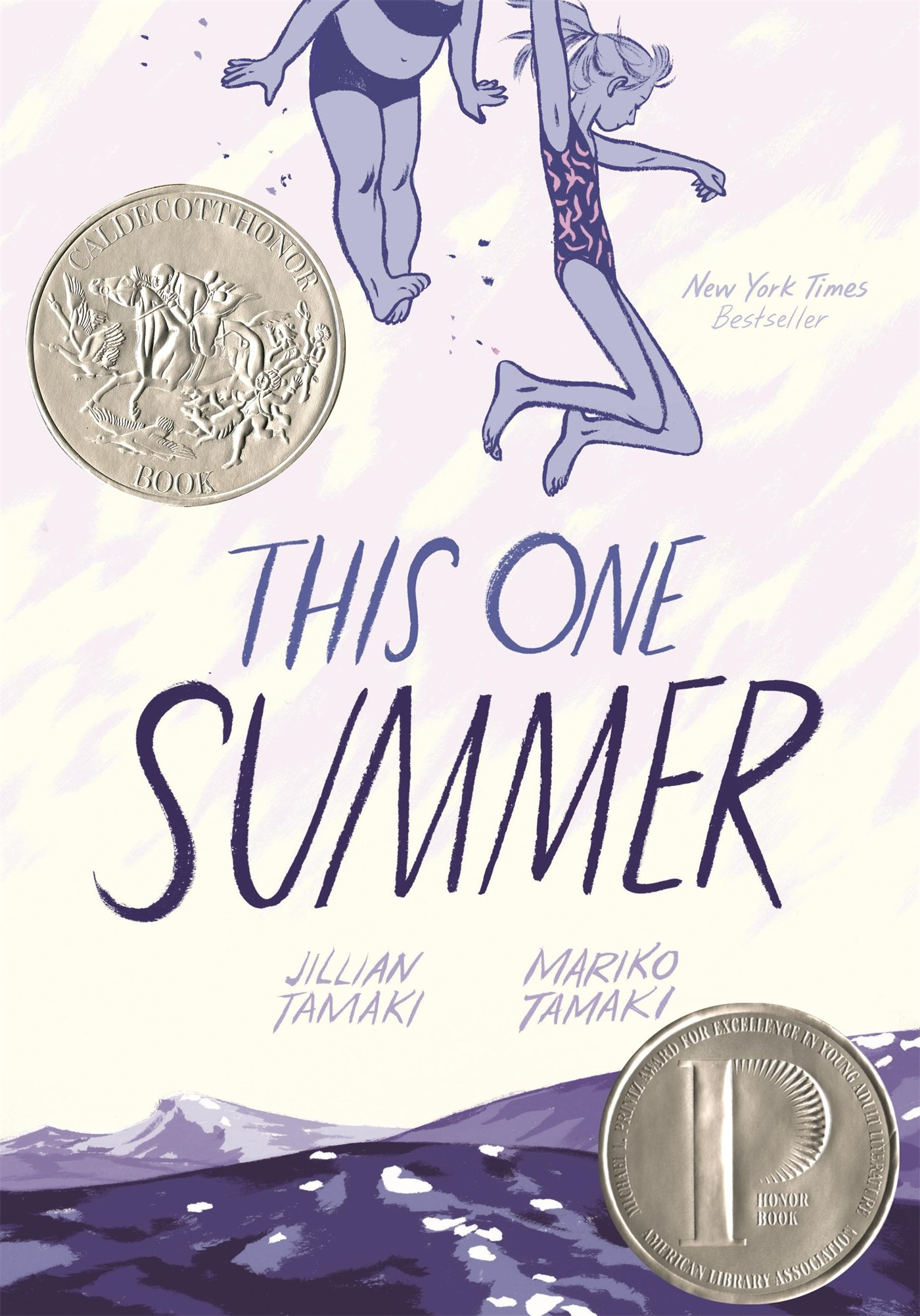 The cover of 'This One Summer'