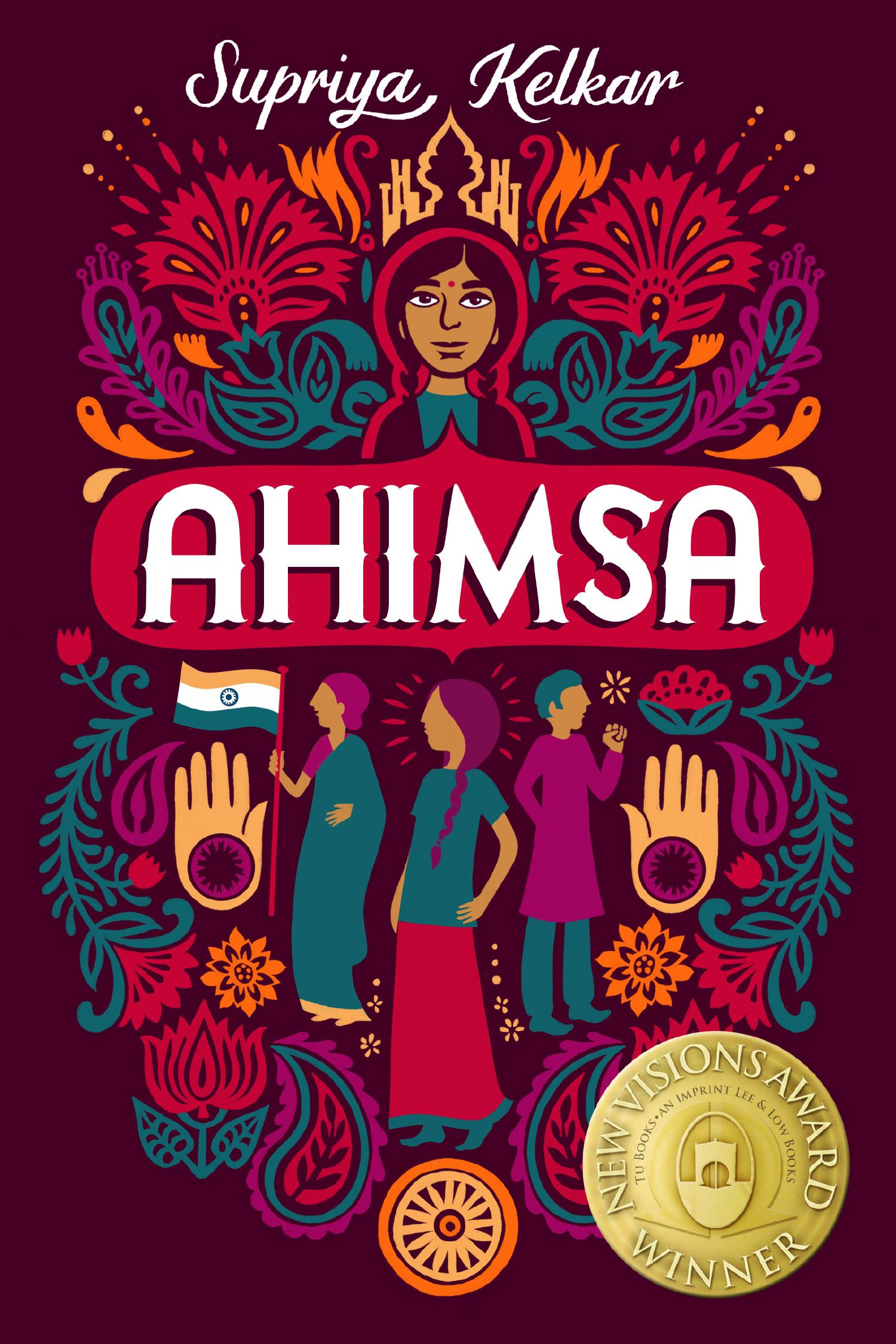 The cover of the new middle grade novel 'Ahimsa.'