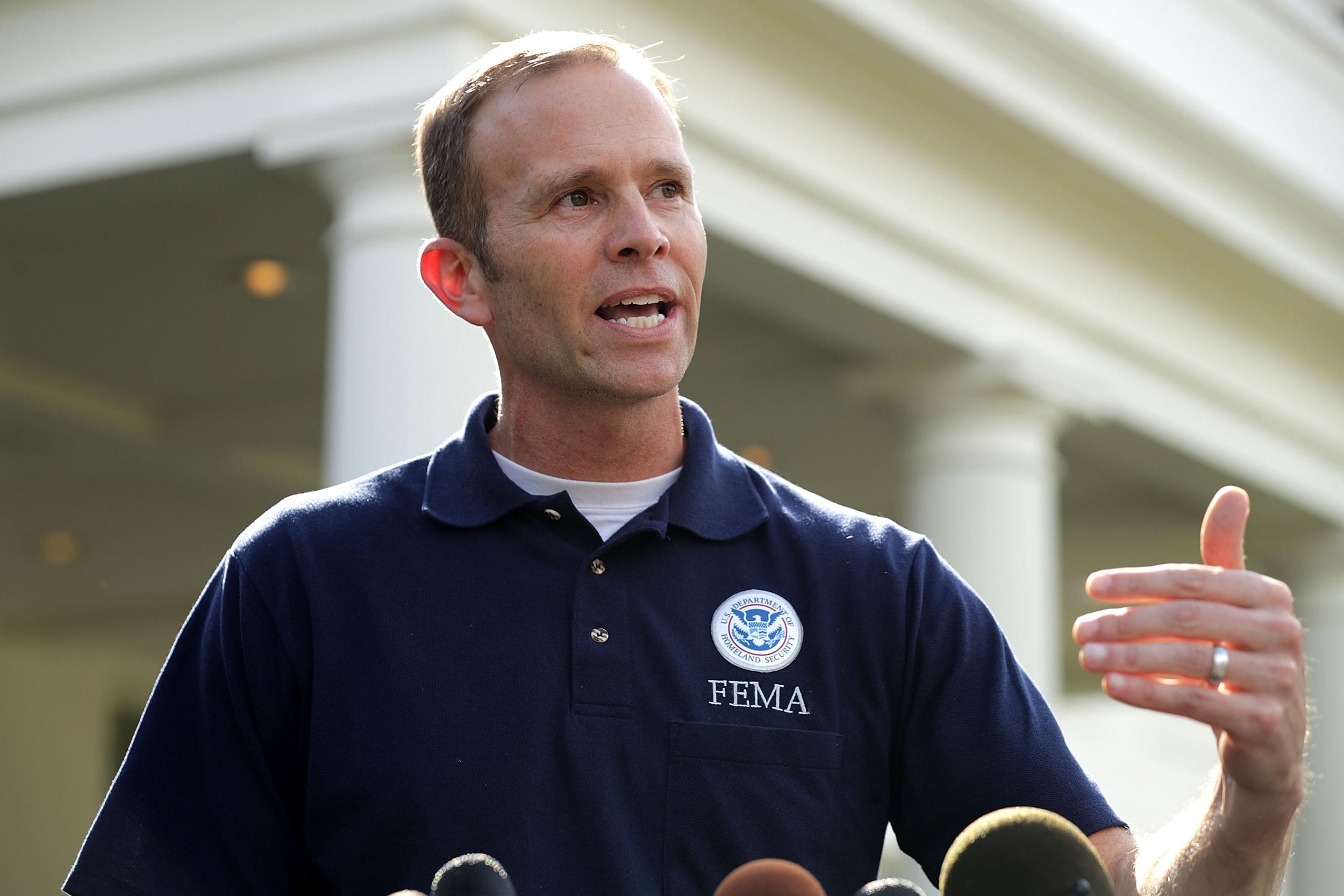 Image: FEMA Administrator Brock Long